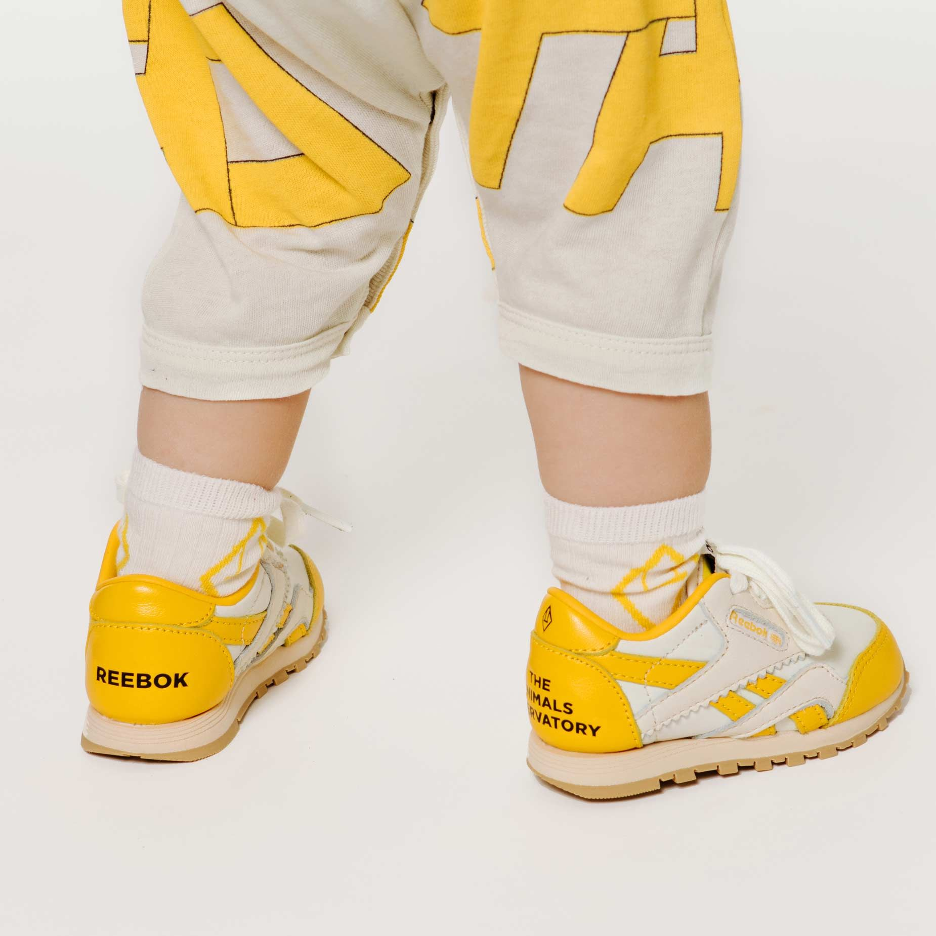 Reebok x The Animals Observatory Classic Nylon Yellow Baby img-6
