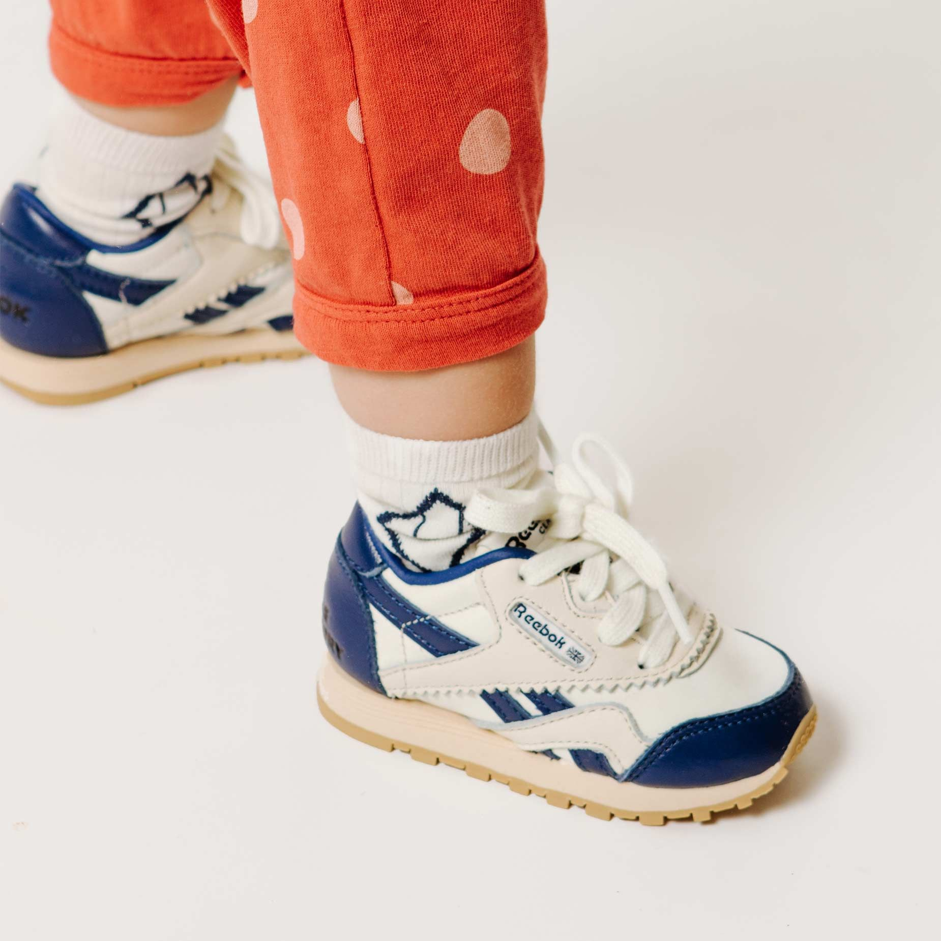 Reebok x The Animals Observatory Classic Nylon Navy Baby img-6