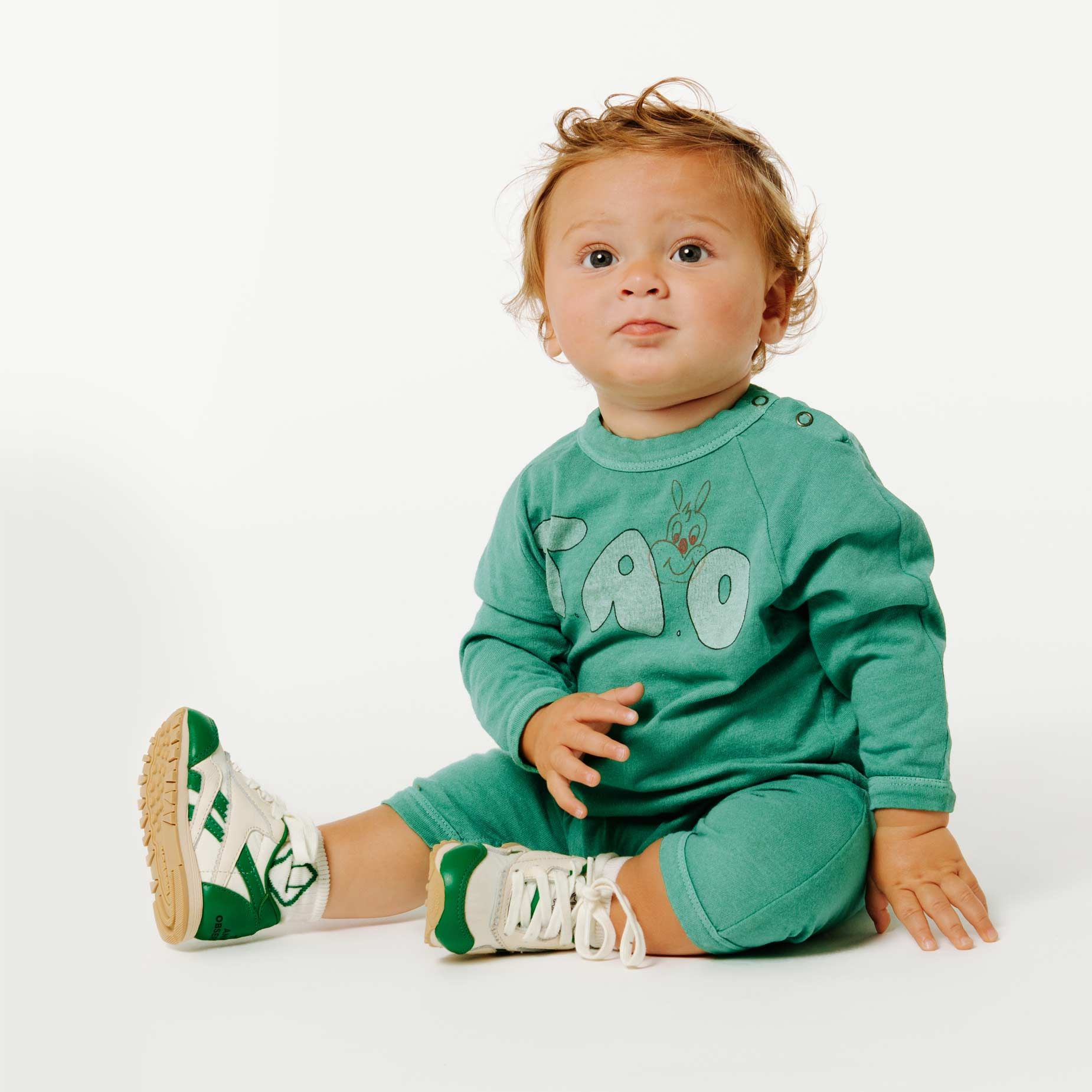 Reebok x The Animals Observatory Classic Nylon Green Baby img-4