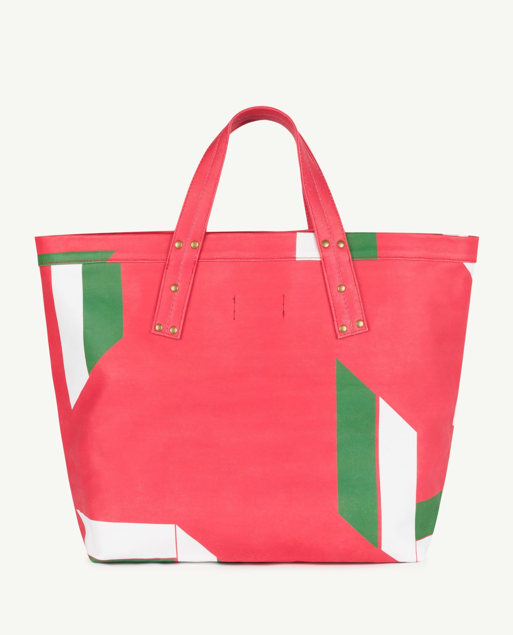 Red Canvas Tote Bag img-2