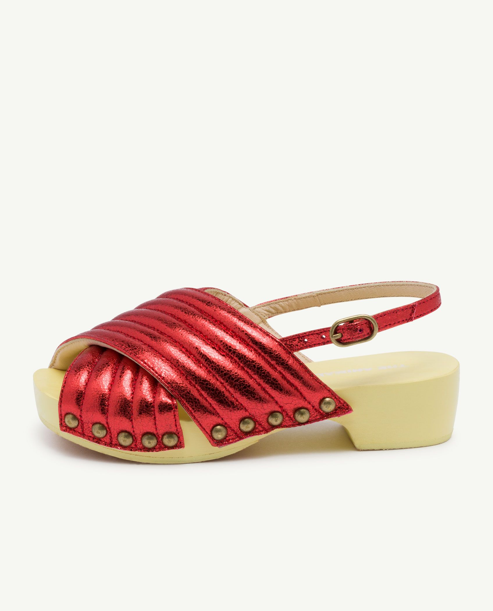 Red Clog Sandals img-1