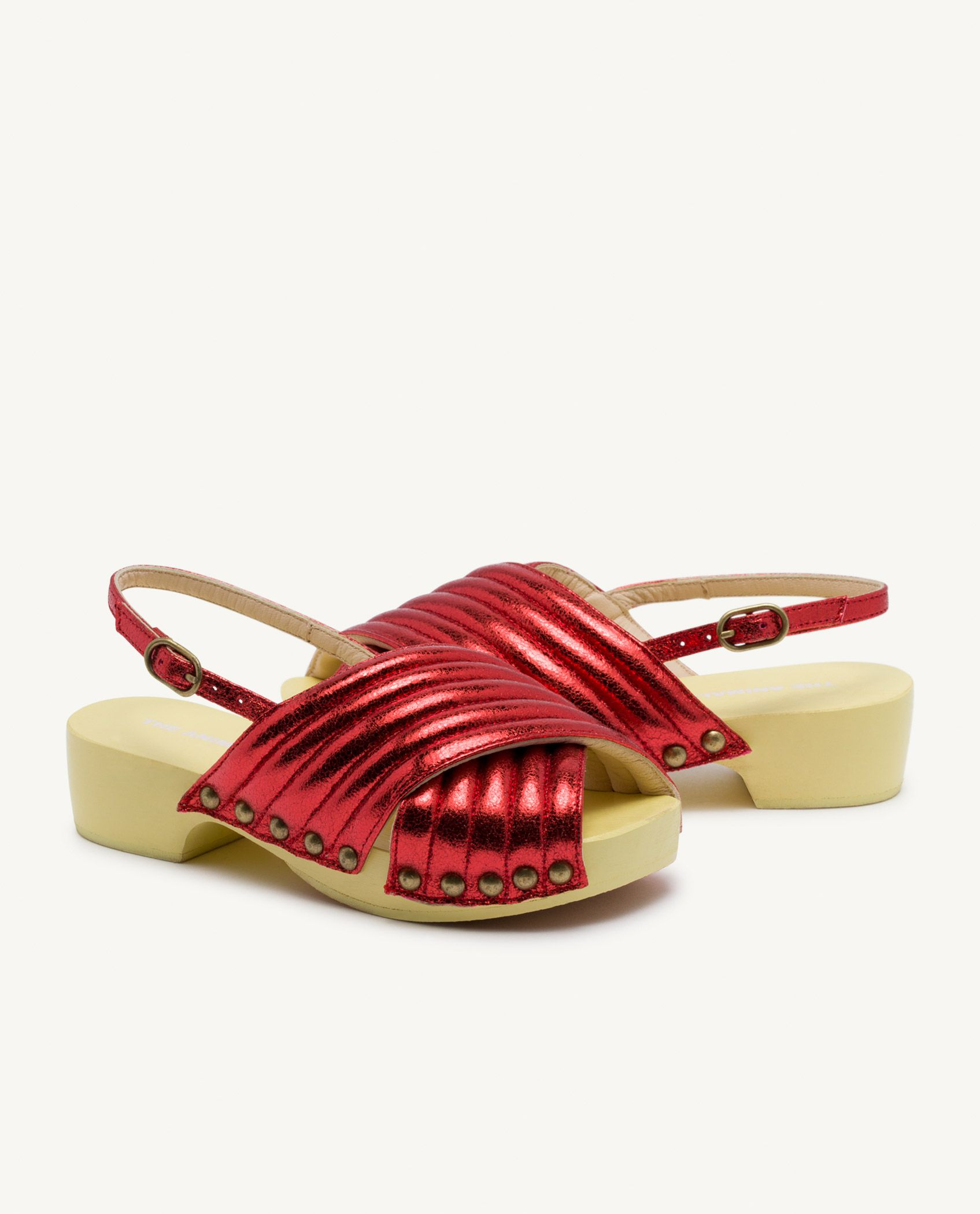 Red Clog Sandals img-3