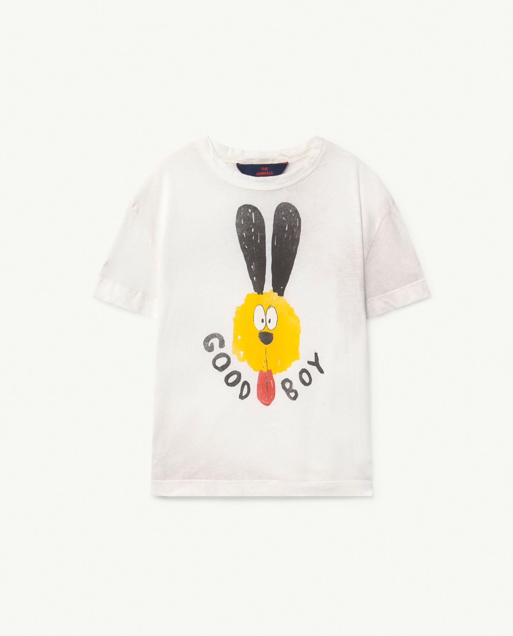White Dog Rooster T-Shirt img-1