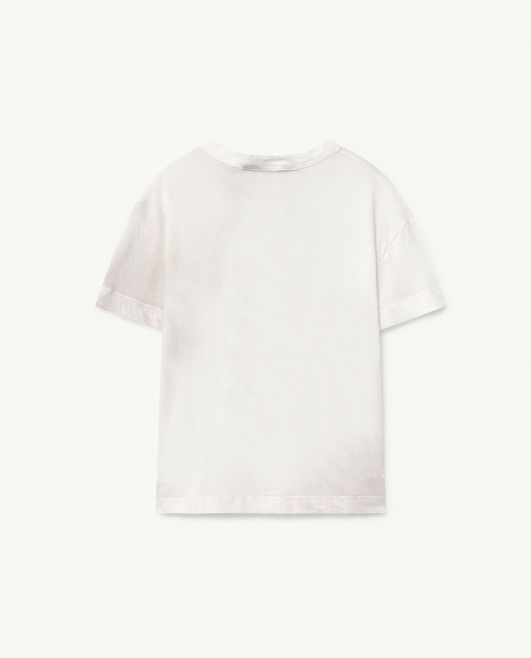White Dog Rooster T-Shirt img-2