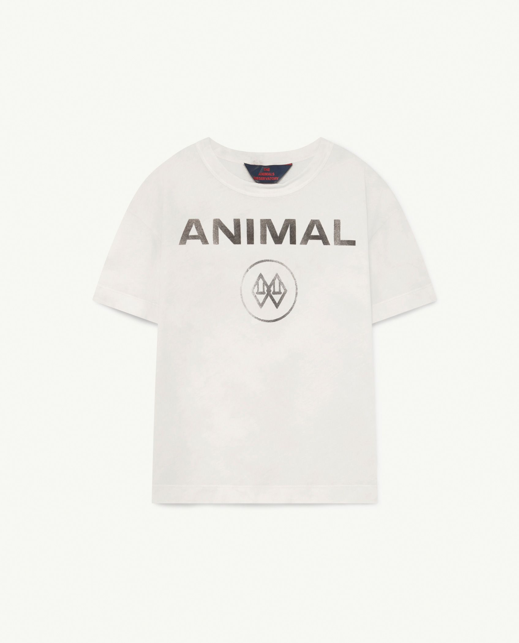 White Animal Rooster T-Shirt img-1