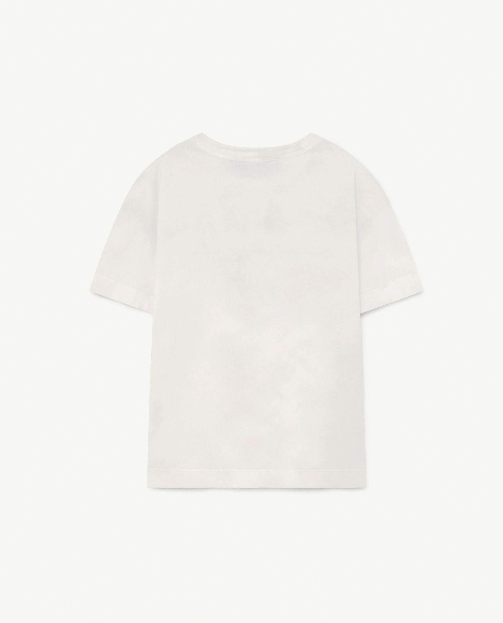 White Animal Rooster T-Shirt img-2