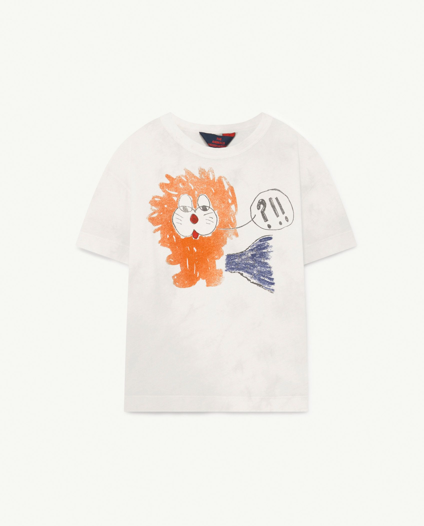 White Lion Rooster T-Shirt img-1