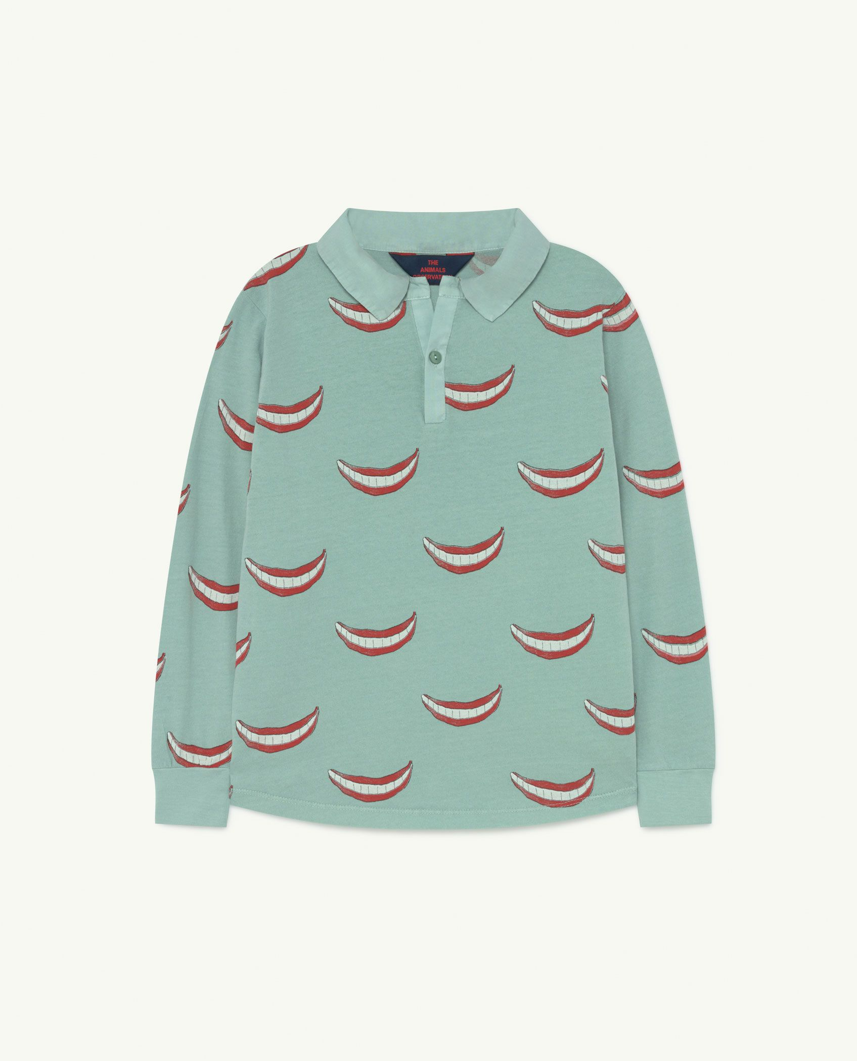Blue Small Eel Jersey Top img-1