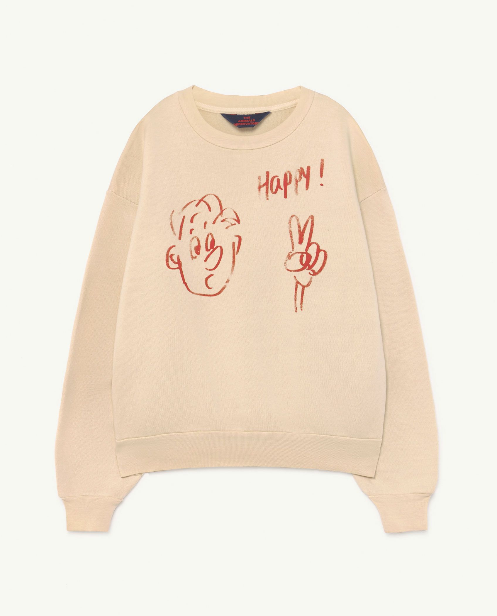 Pink Happy Bear Sweater img-1