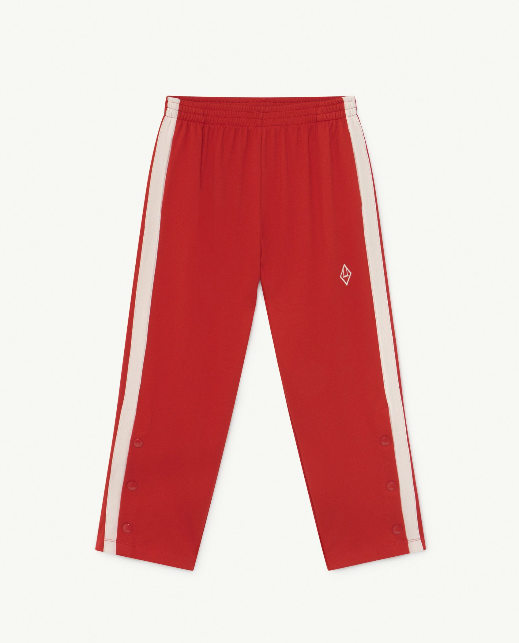 Red Logo Horse Jersey Pants img-1