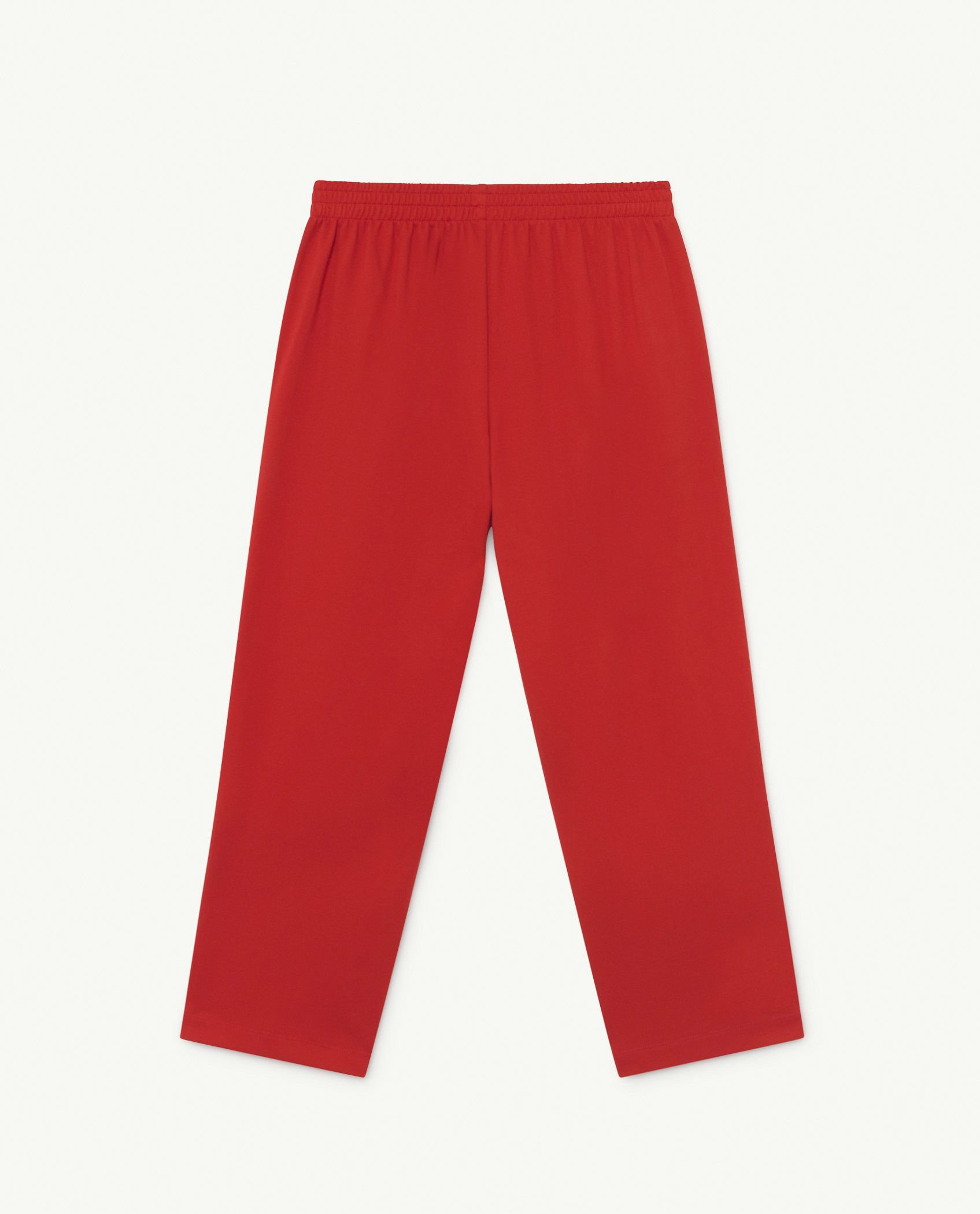 Red Logo Horse Jersey Pants img-2