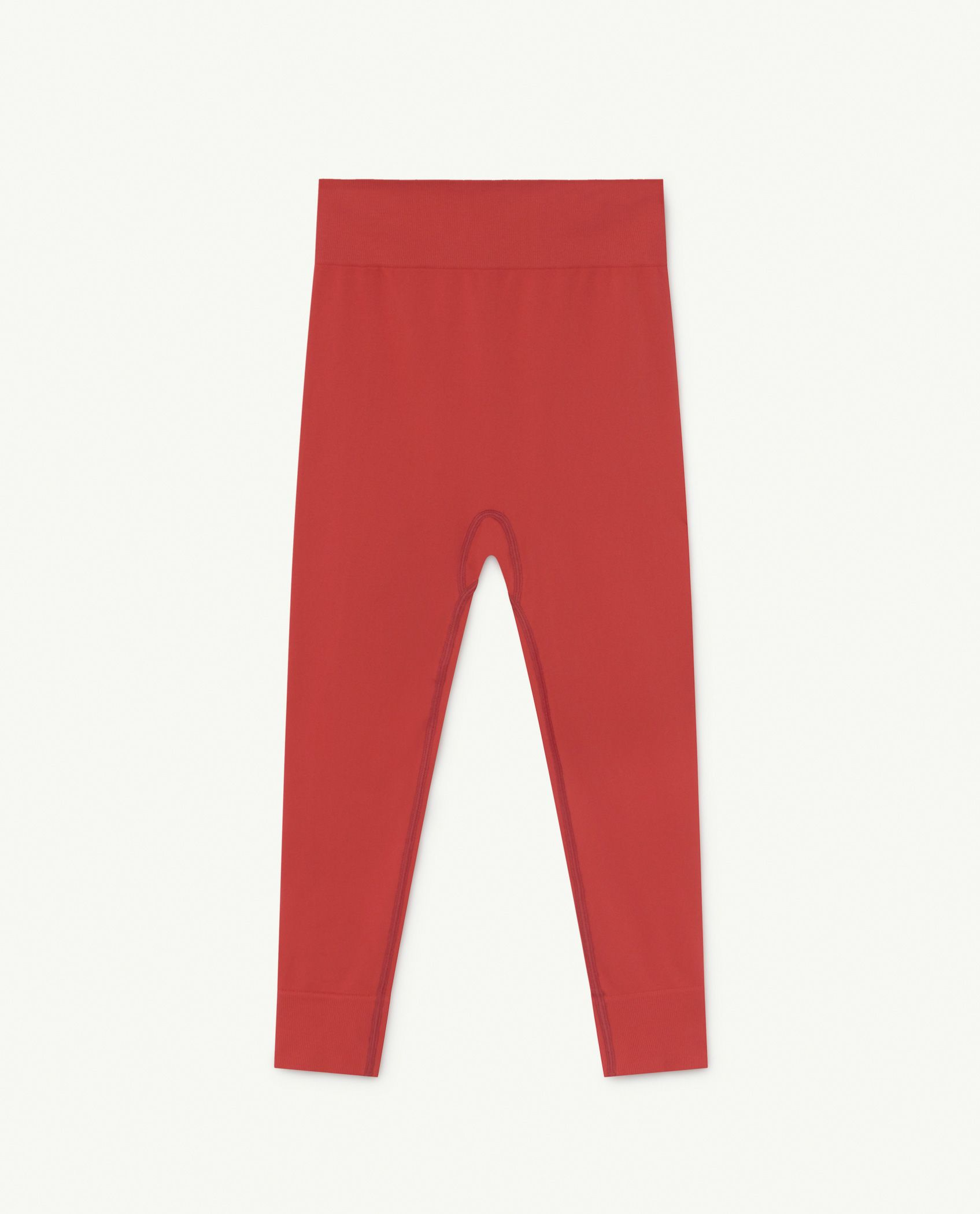 Red Alligator Slouch Bottoms img-1