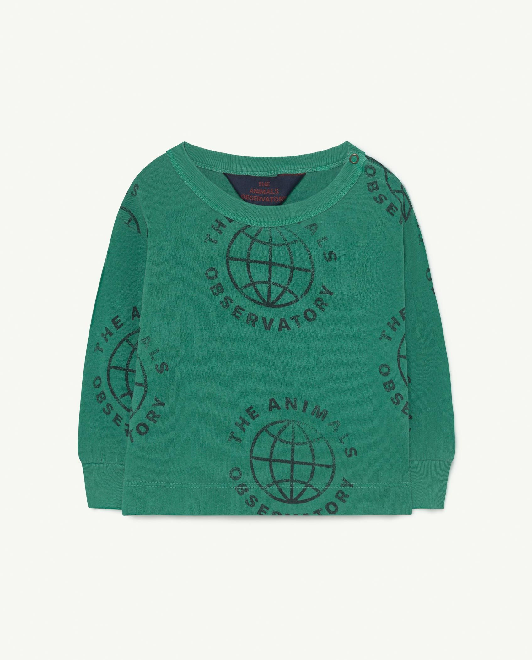 Baby Green Planet Dog T-Shirt img-1