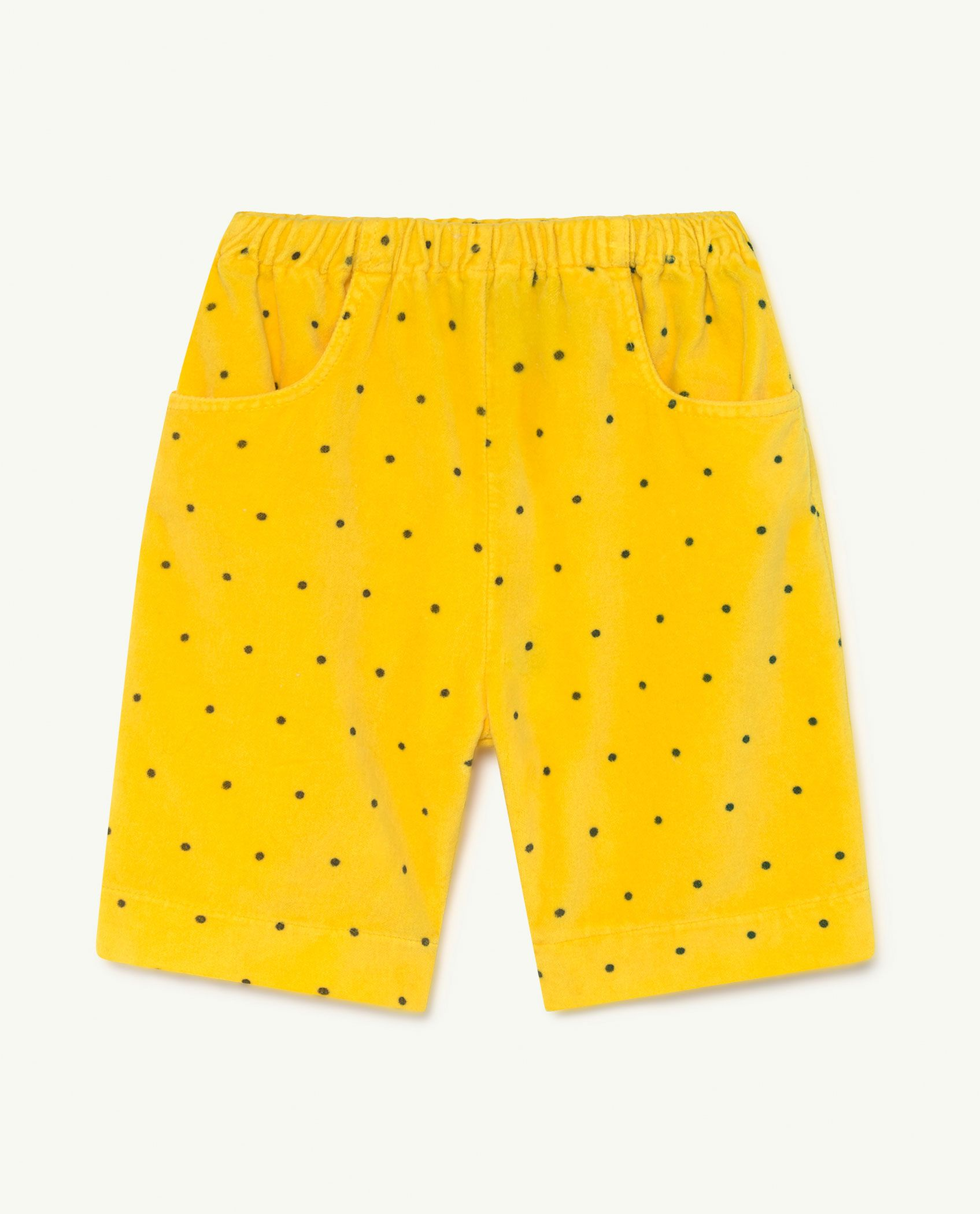 Baby Yellow Dots Elephant Trousers img-1