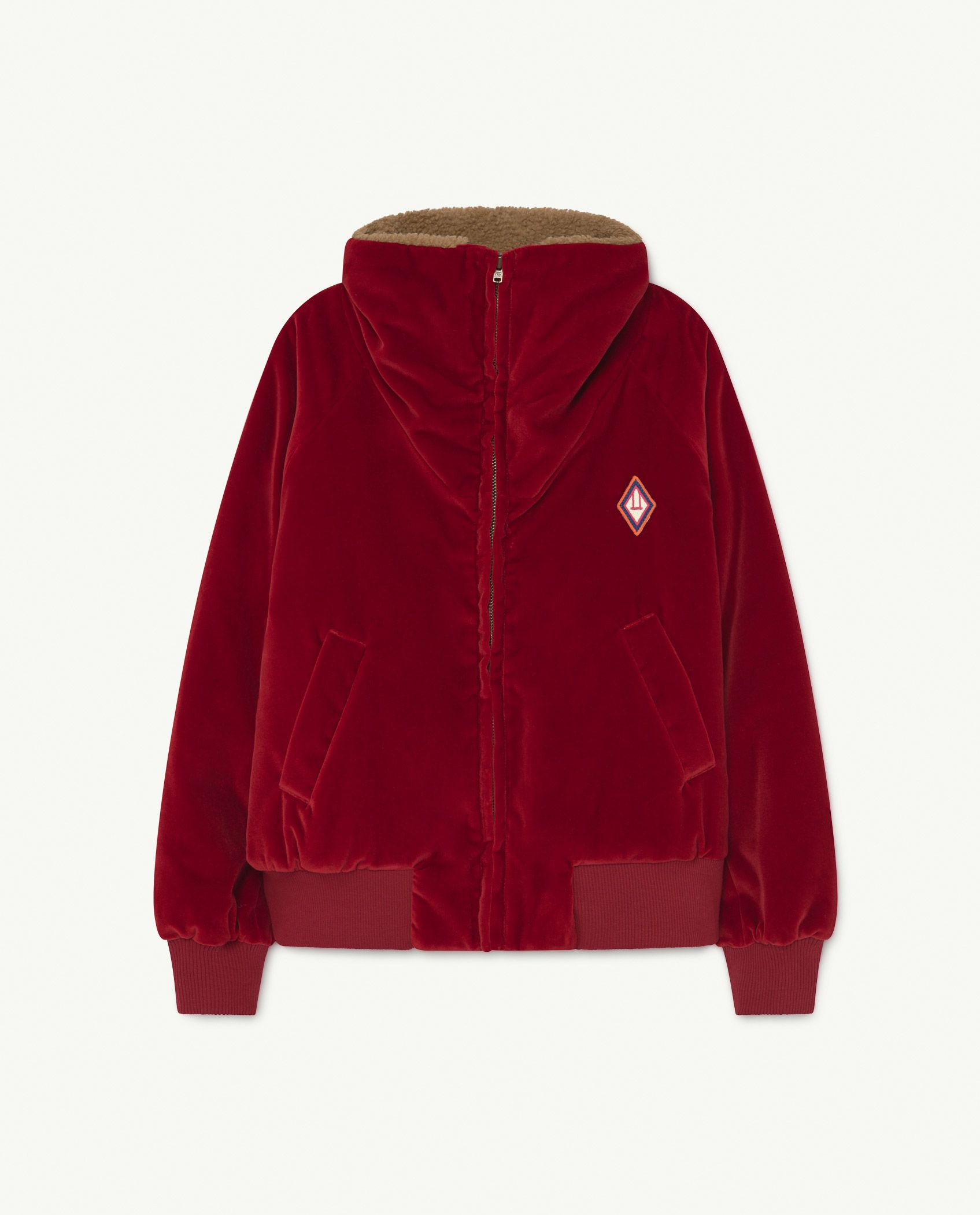 Red Tiger Padded Fleece img-1
