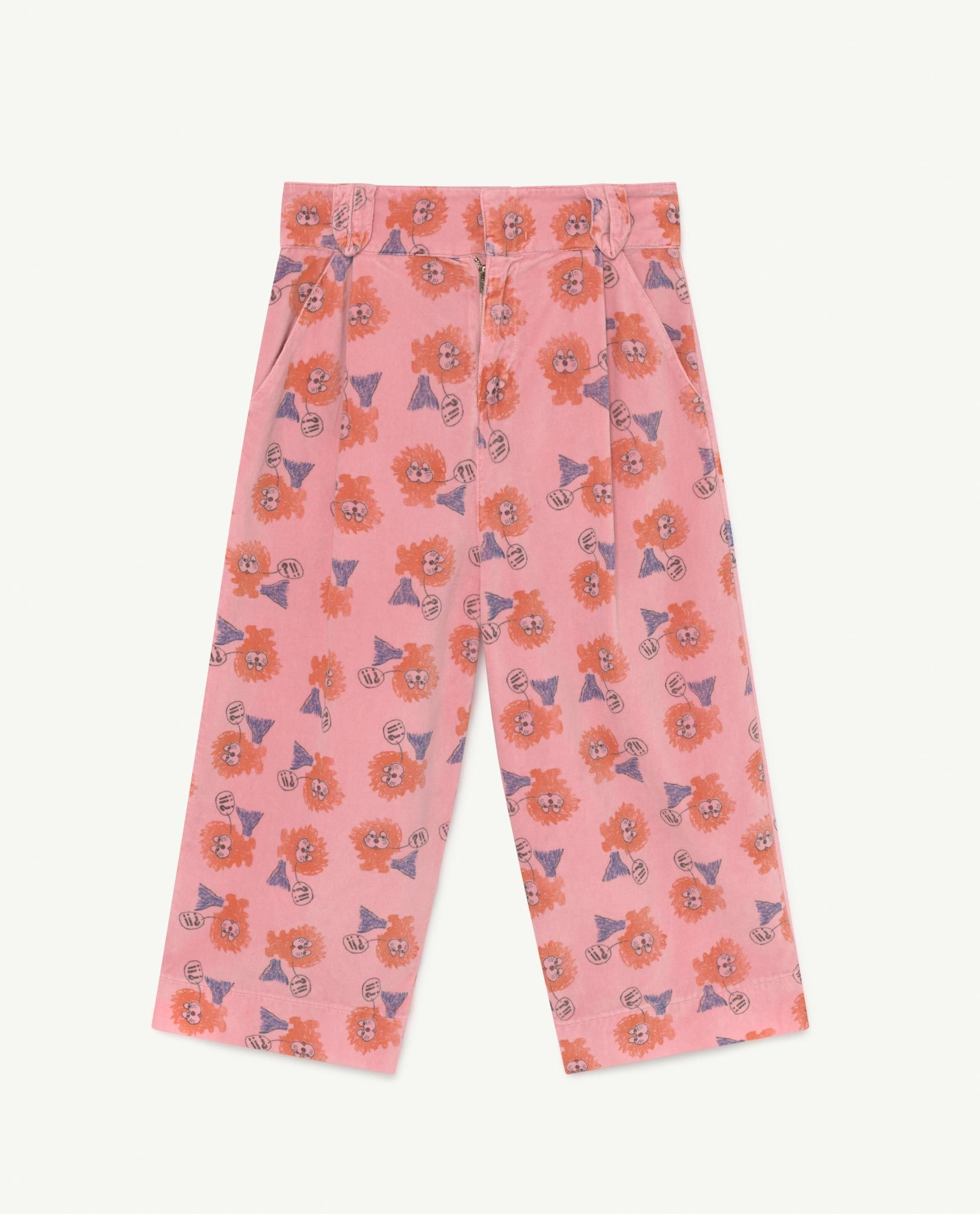 Pink Lions Emu Trousers img-1