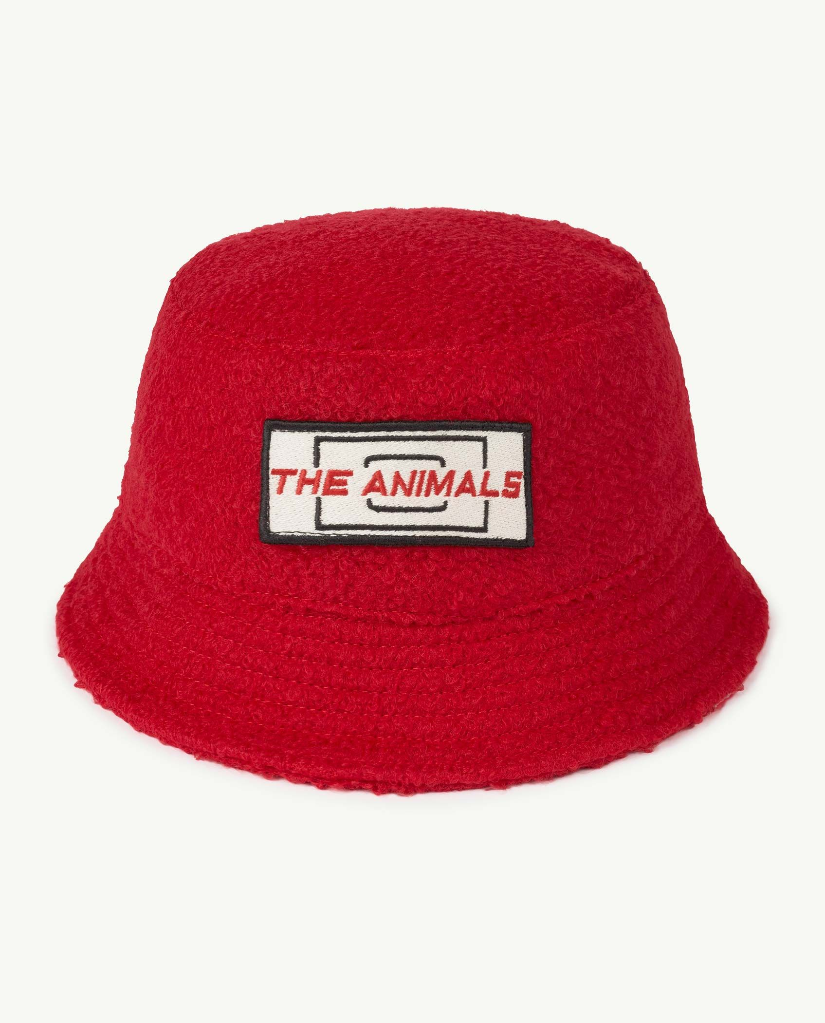 Kid Red Animals Starfish Hat img-1