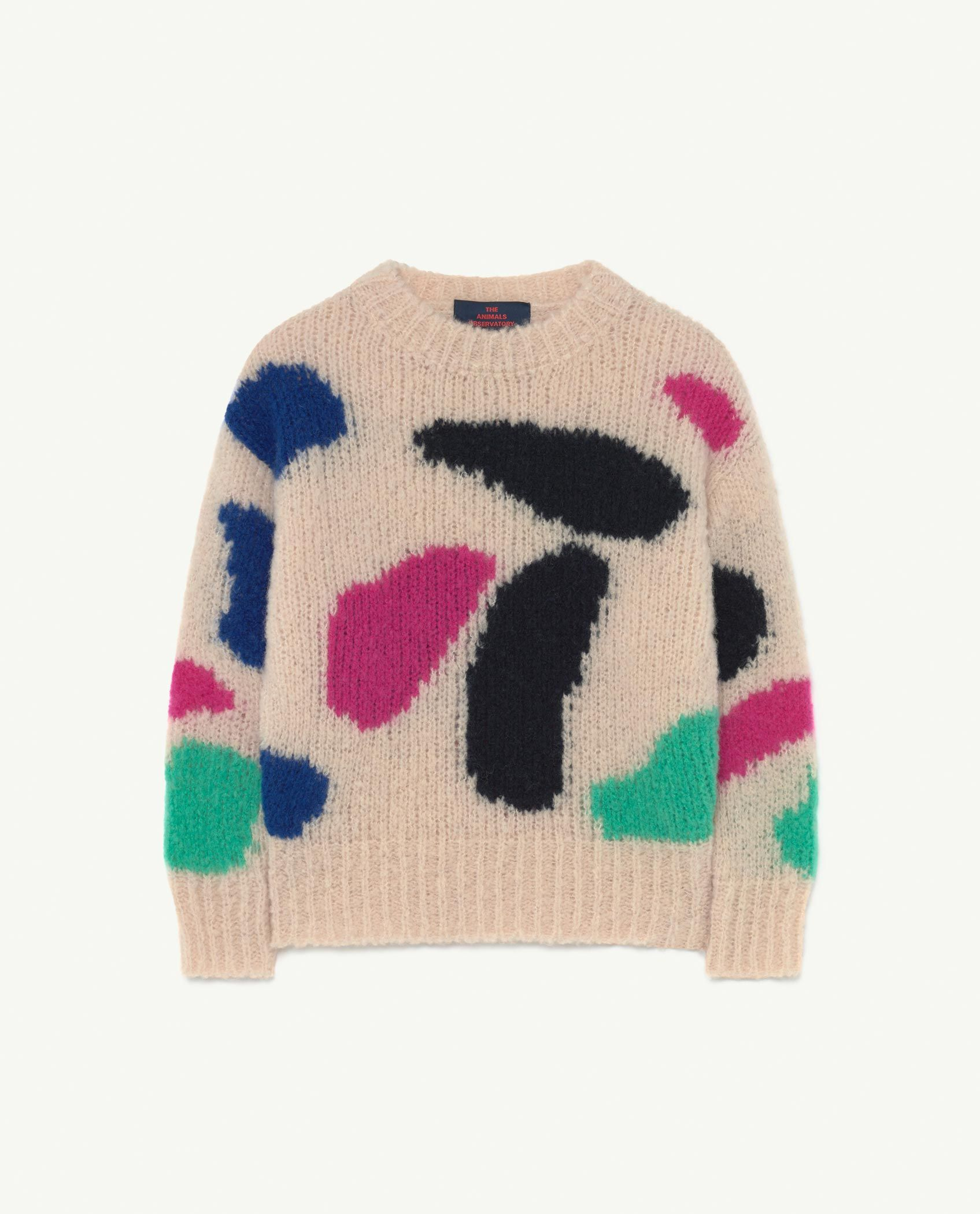 Pale Rose Arty Bull Jumper img-1