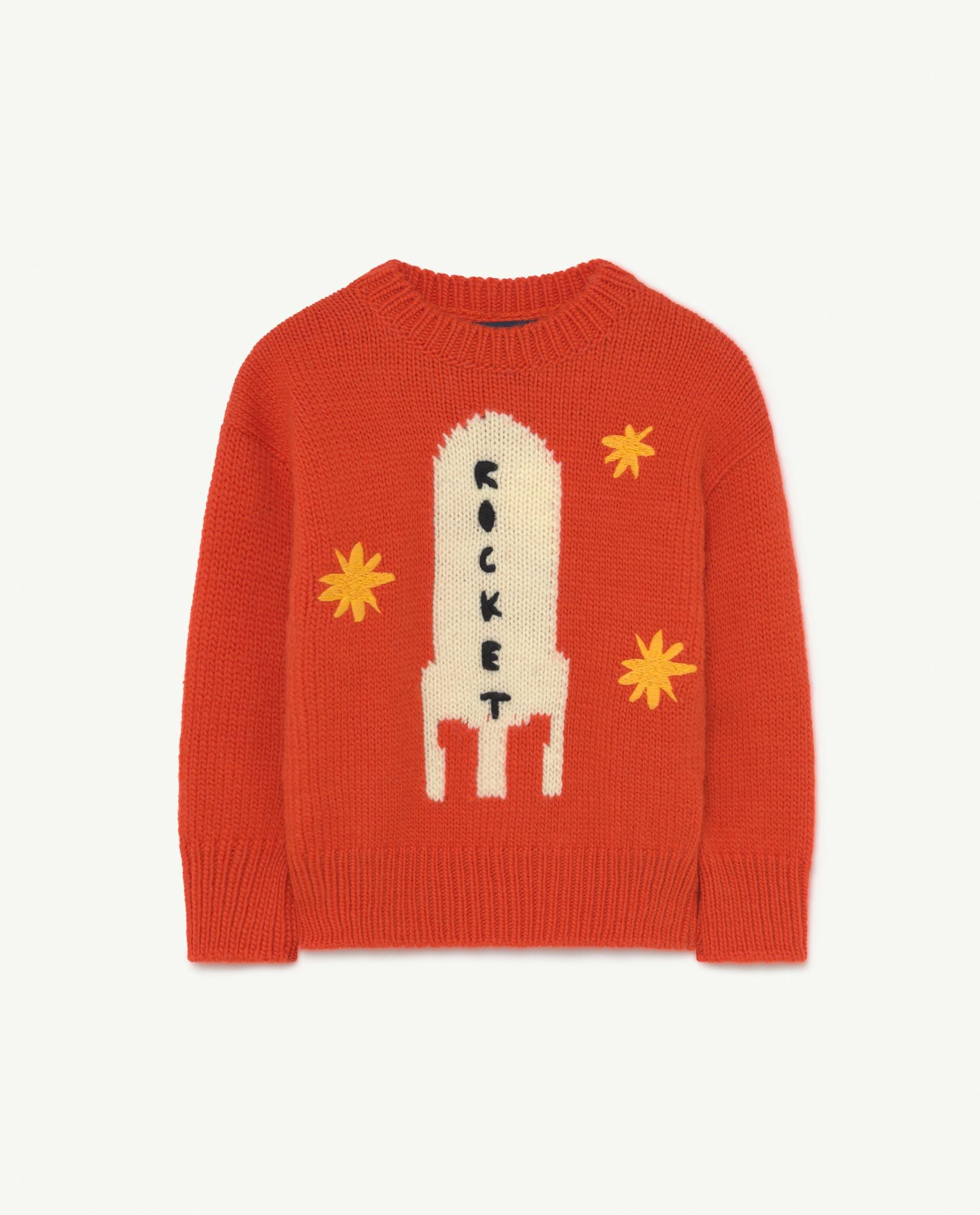 Red Space Bull Knit img-1