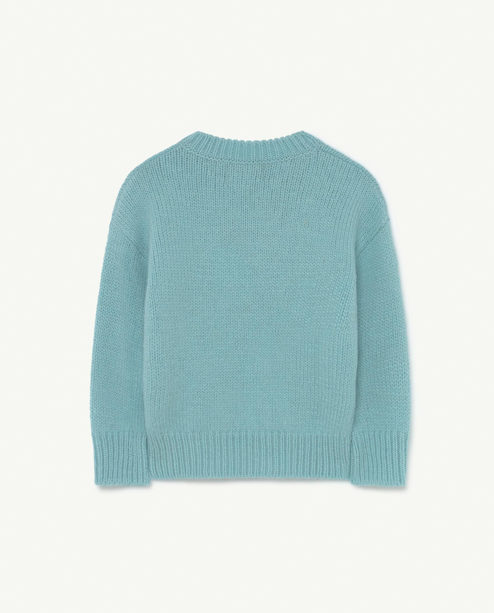 Soft Blue Space Bull Knit img-2