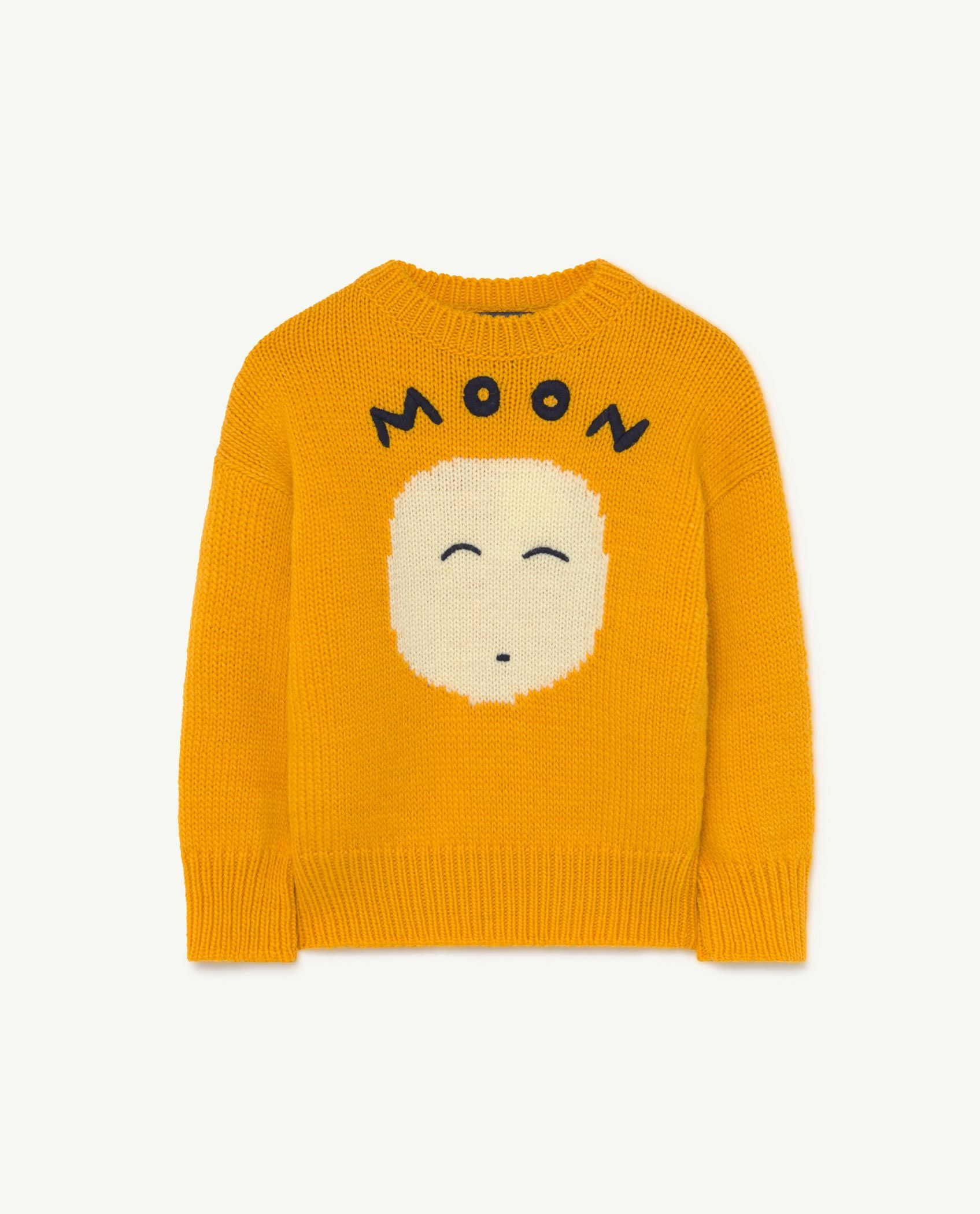 Yellow Space Bull Knit img-1