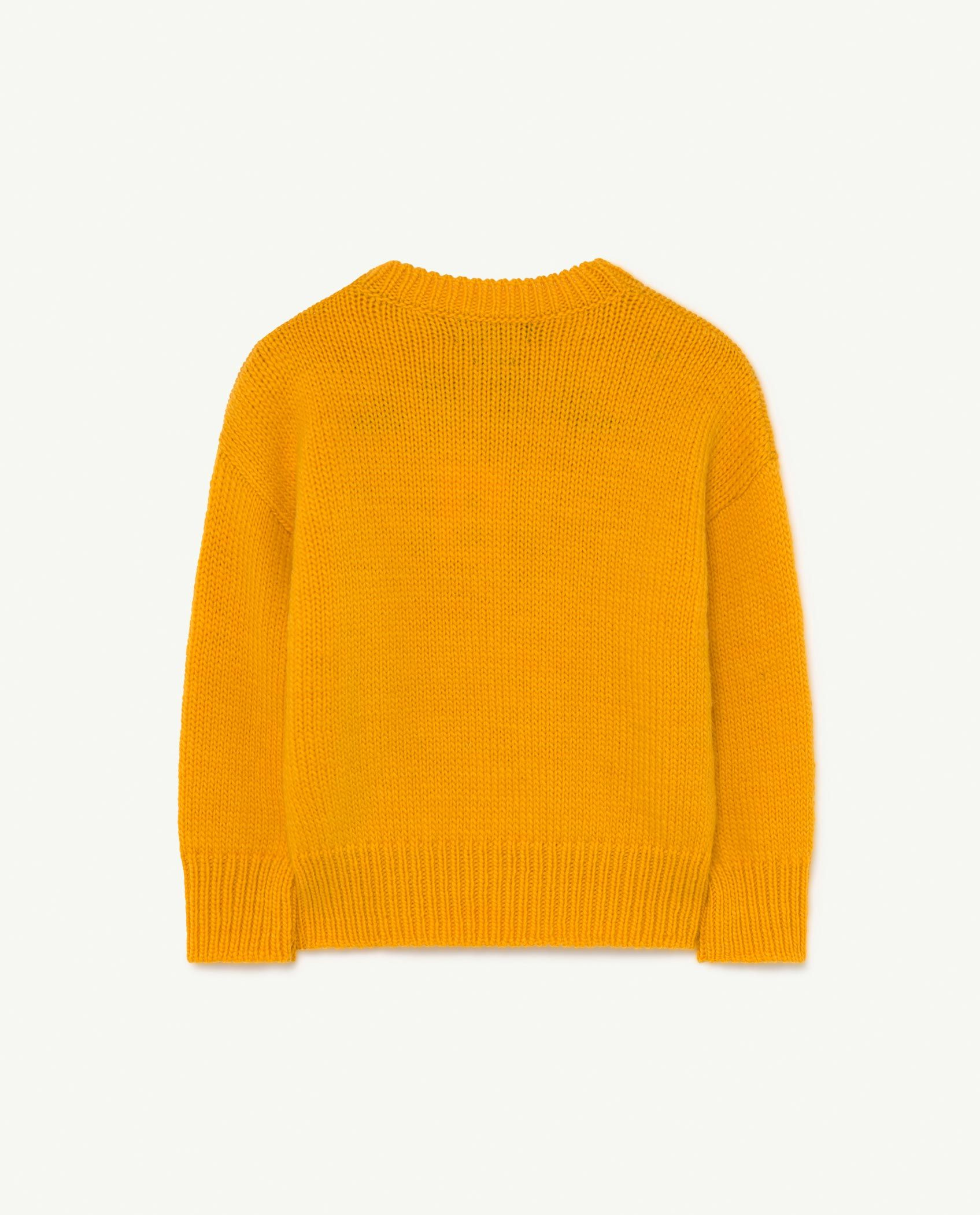 Yellow Space Bull Knit img-2