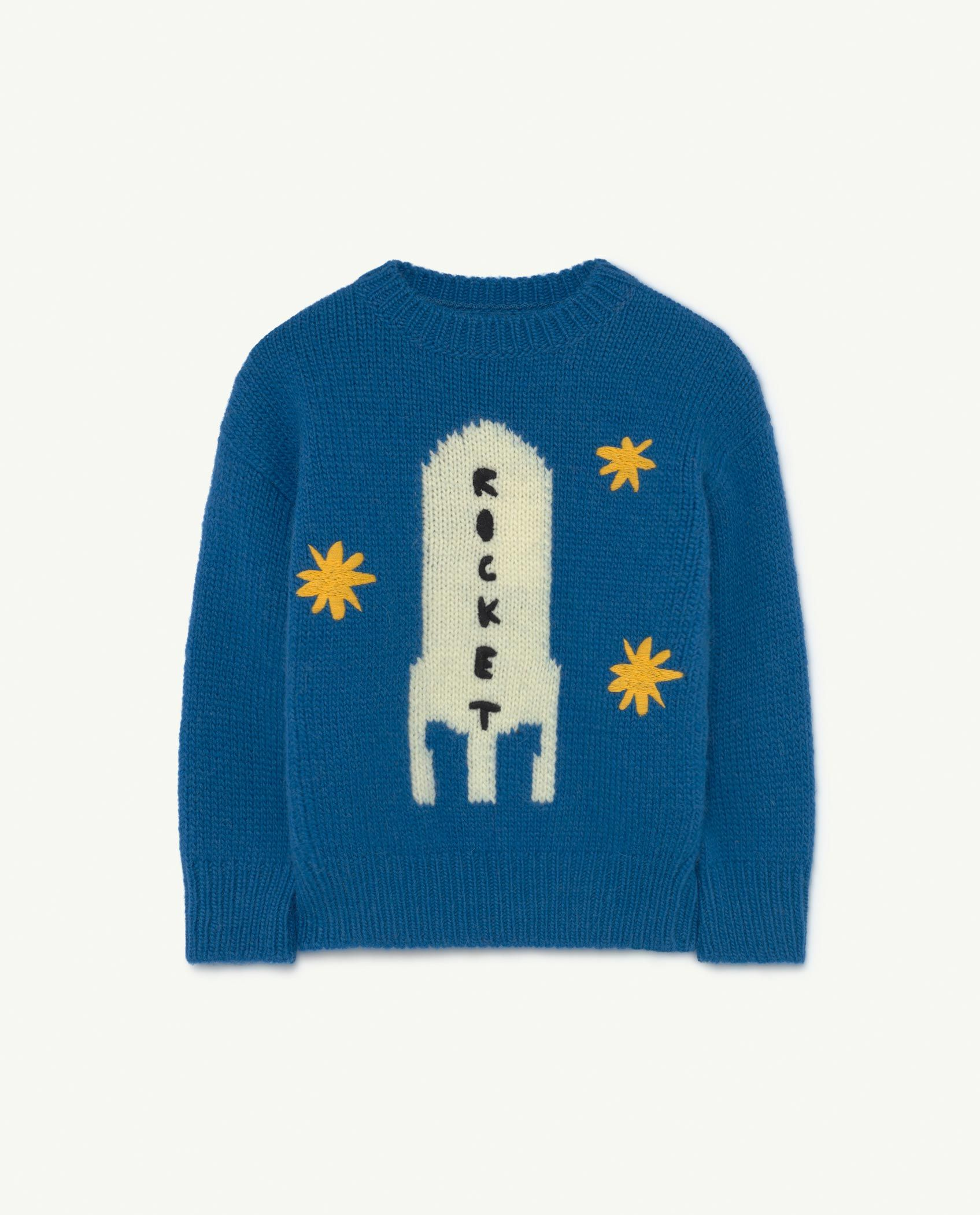 Blue Space Bull Knit img-1