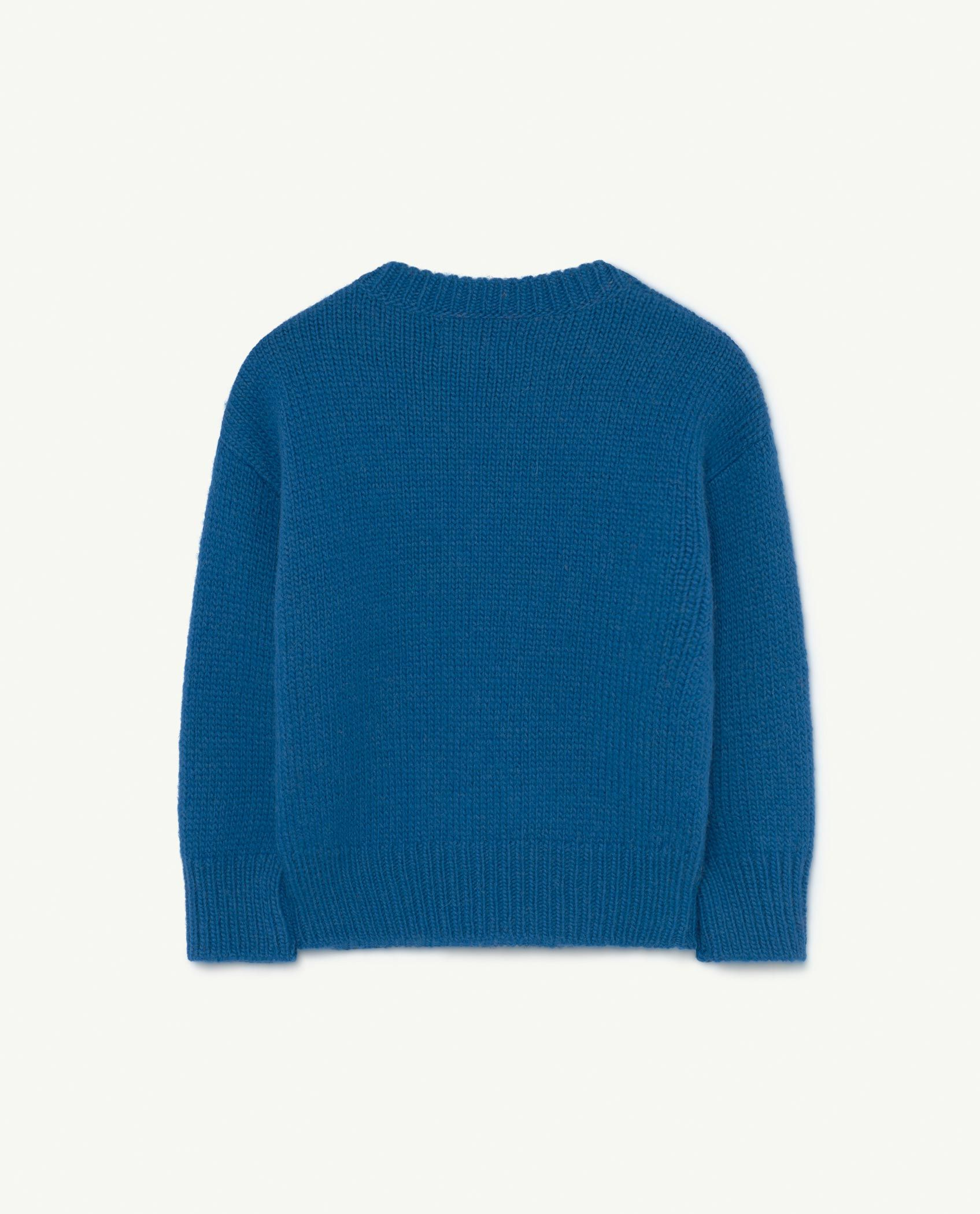 Blue Space Bull Knit img-2