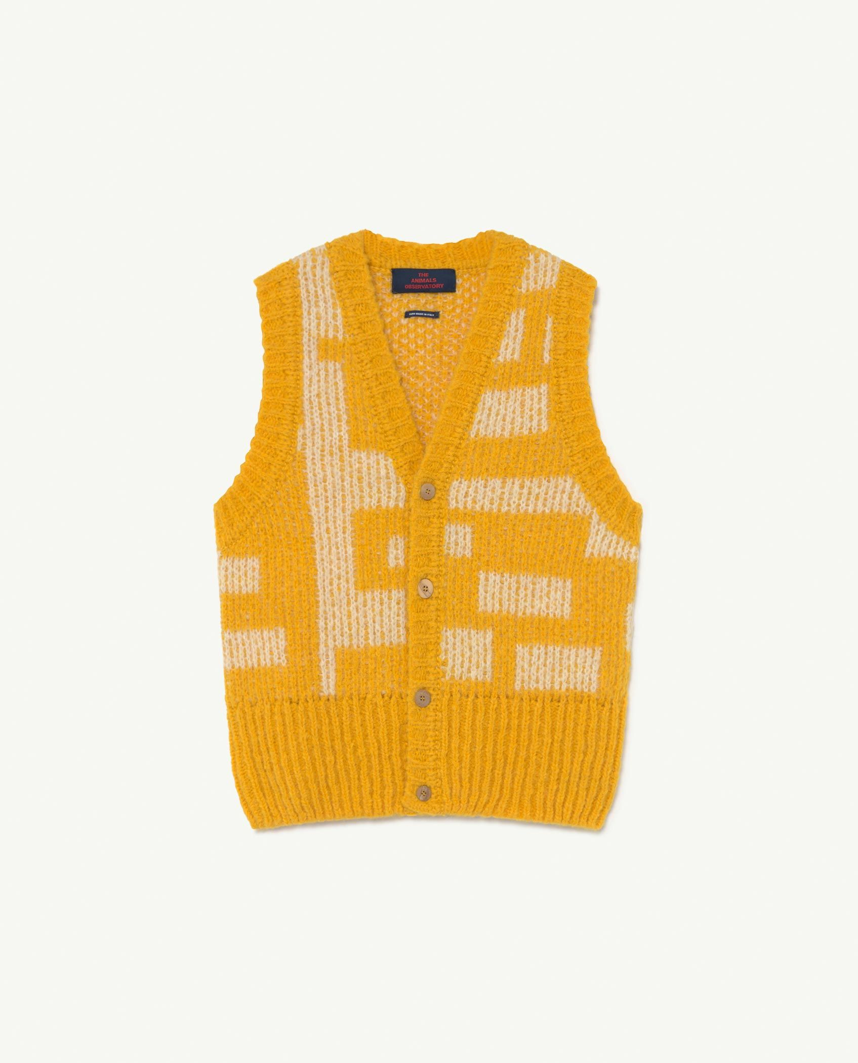 Yellow Bat Vest img-1