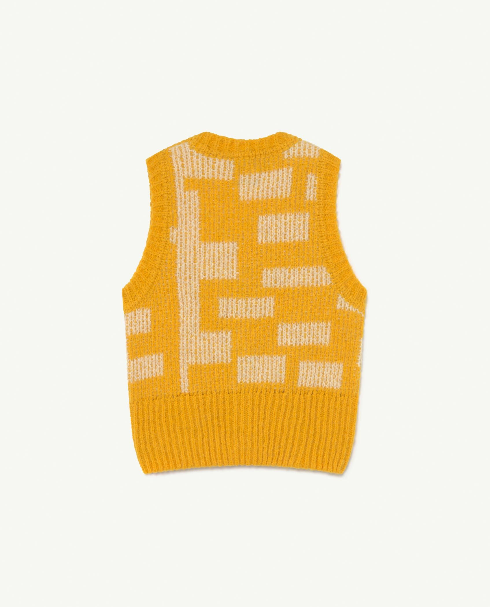 Yellow Bat Vest img-2