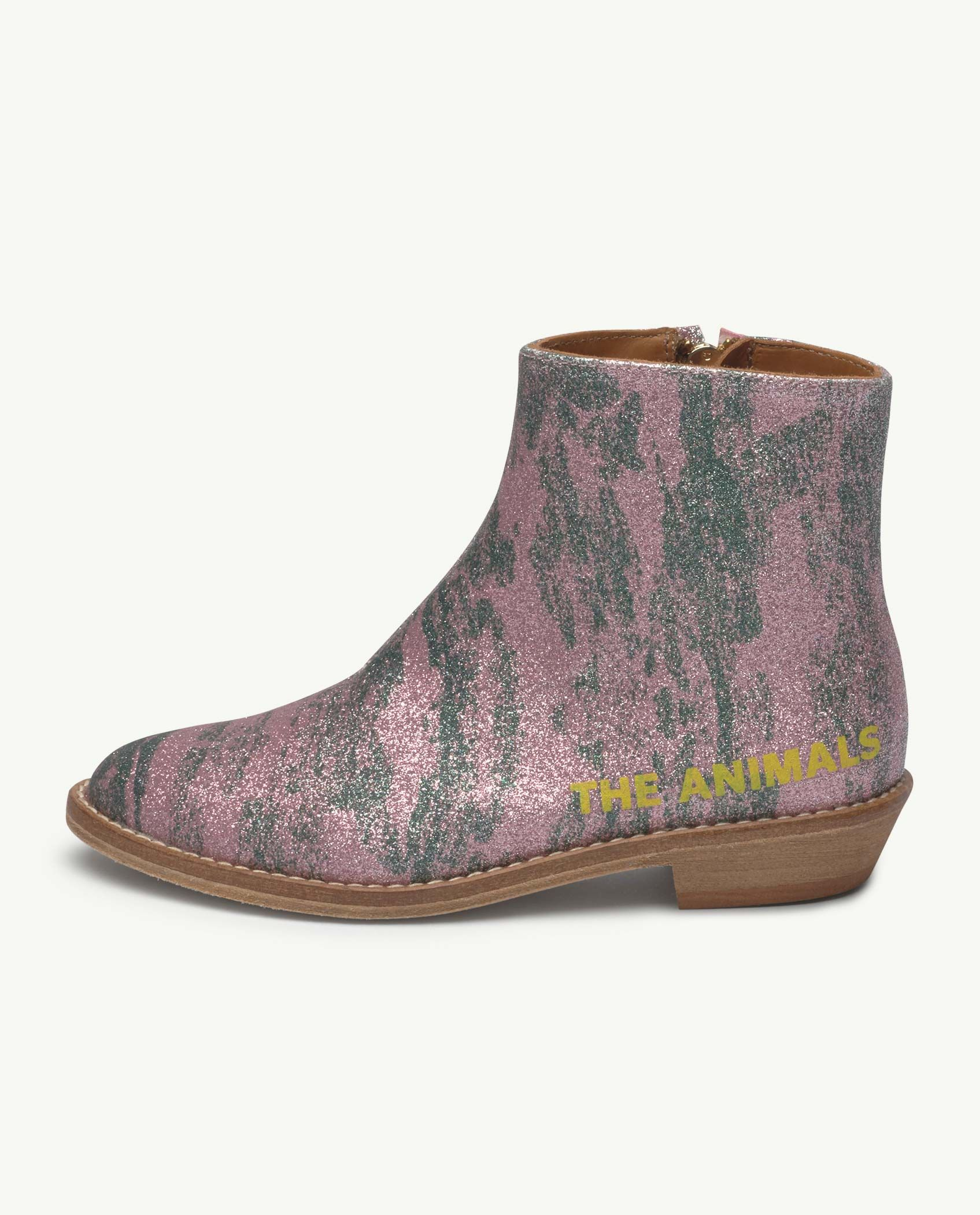 Pink Glitter Coyote Boot img-2