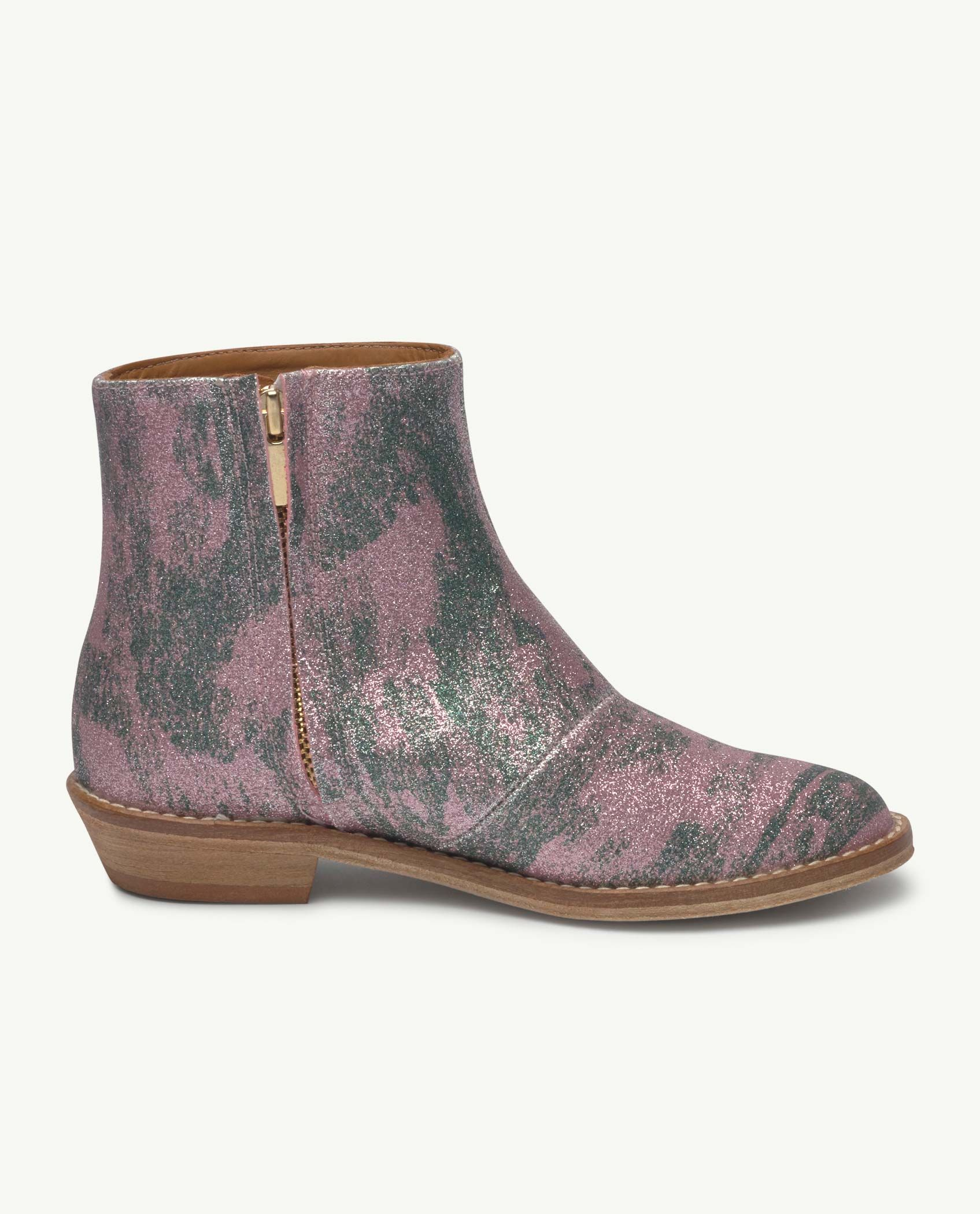 Pink Glitter Coyote Boot img-3