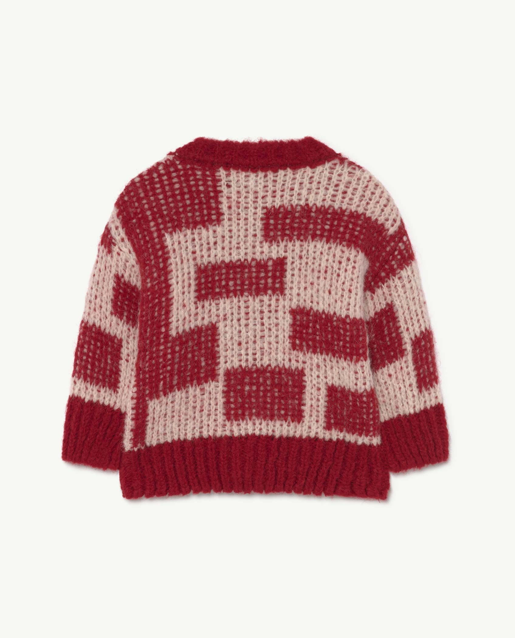 Baby Red Racoon Cardigan img-2