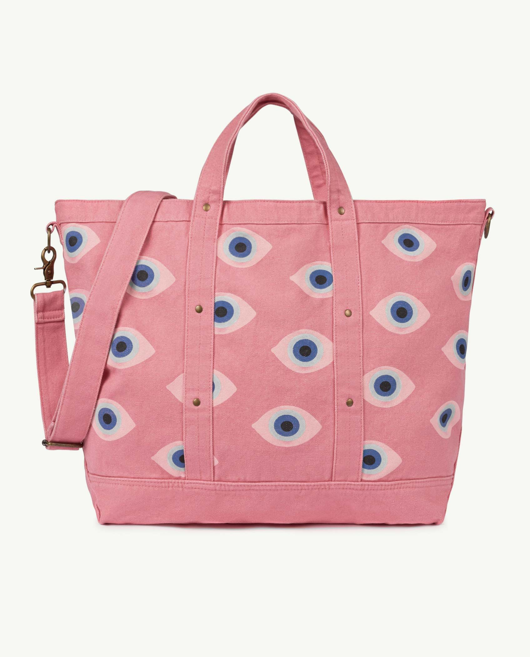 Big Pink Canvas Bag img-1