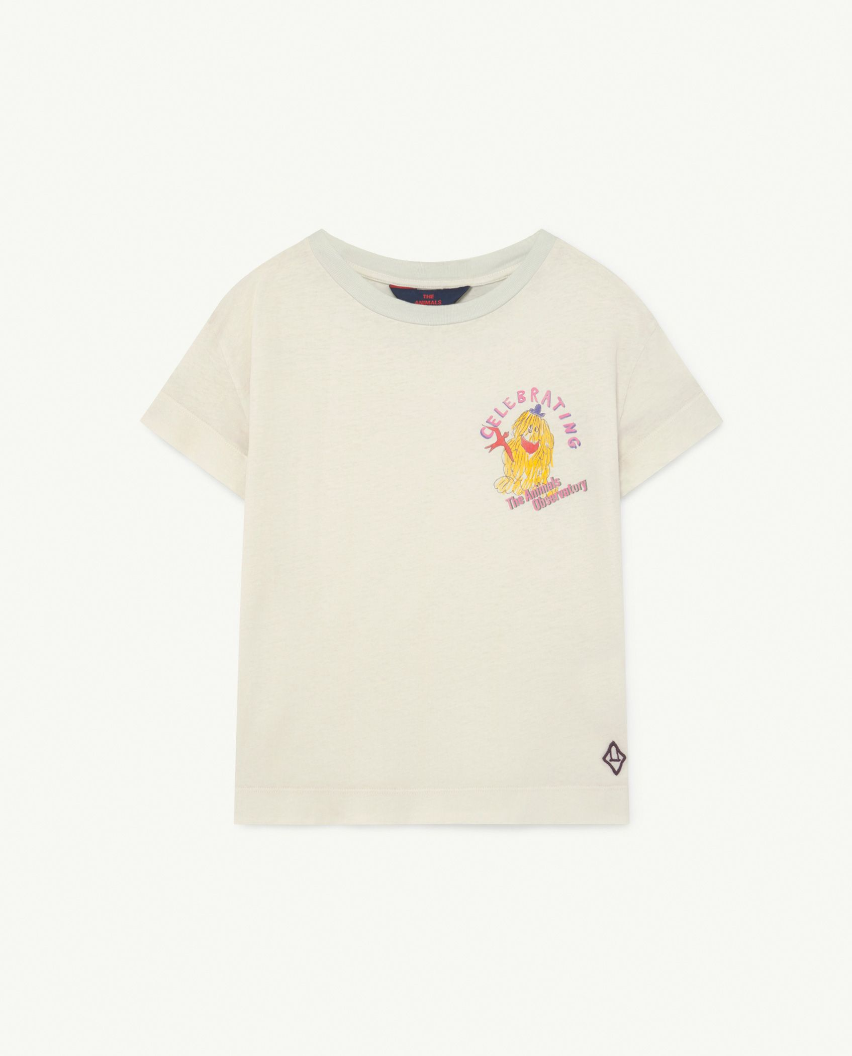 Soft White Celebrate Detail Rooster T-Shirt img-1