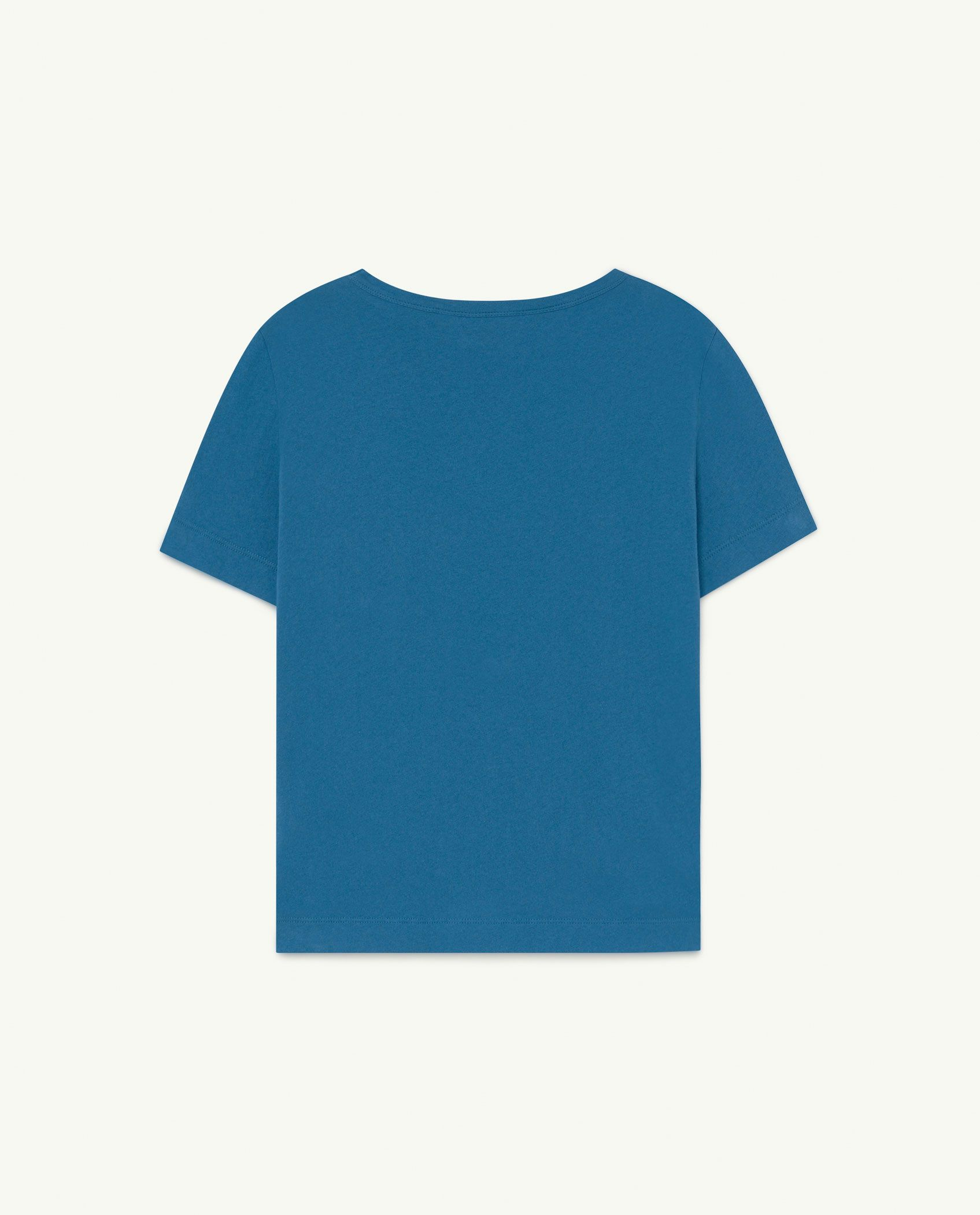 Recycled Soft Blue Eau d'Amour Rooster T-Shirt img-2