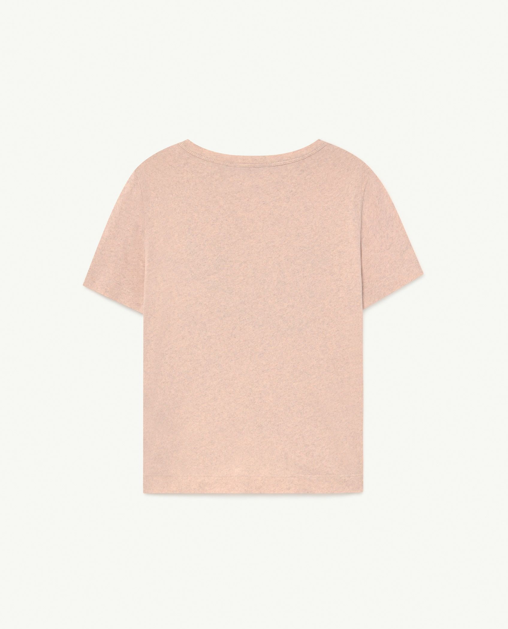 Recycled Soft Pink Le Monde Rooster T-Shirt img-2