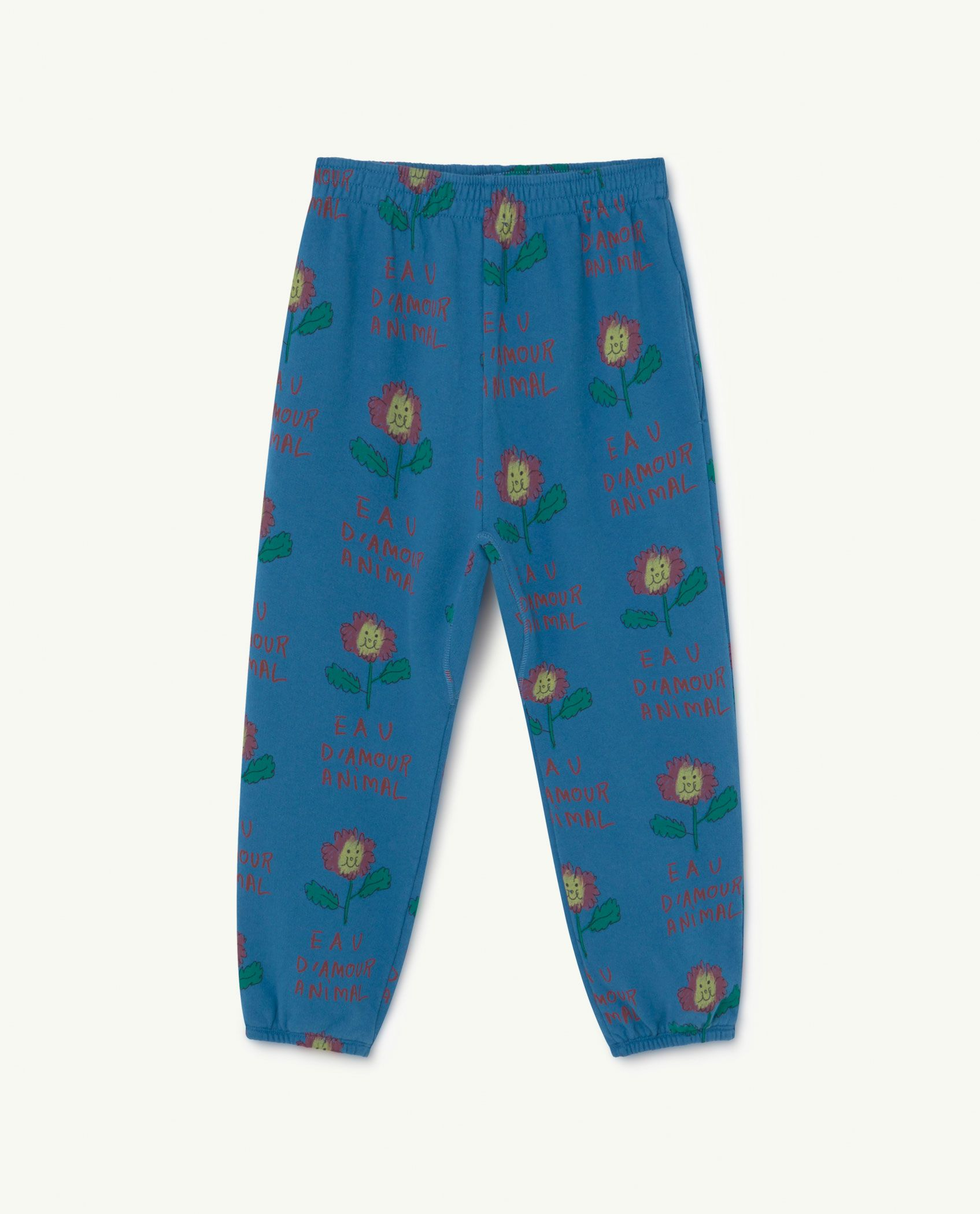 Recycled Blue Flowers Trousers img-1