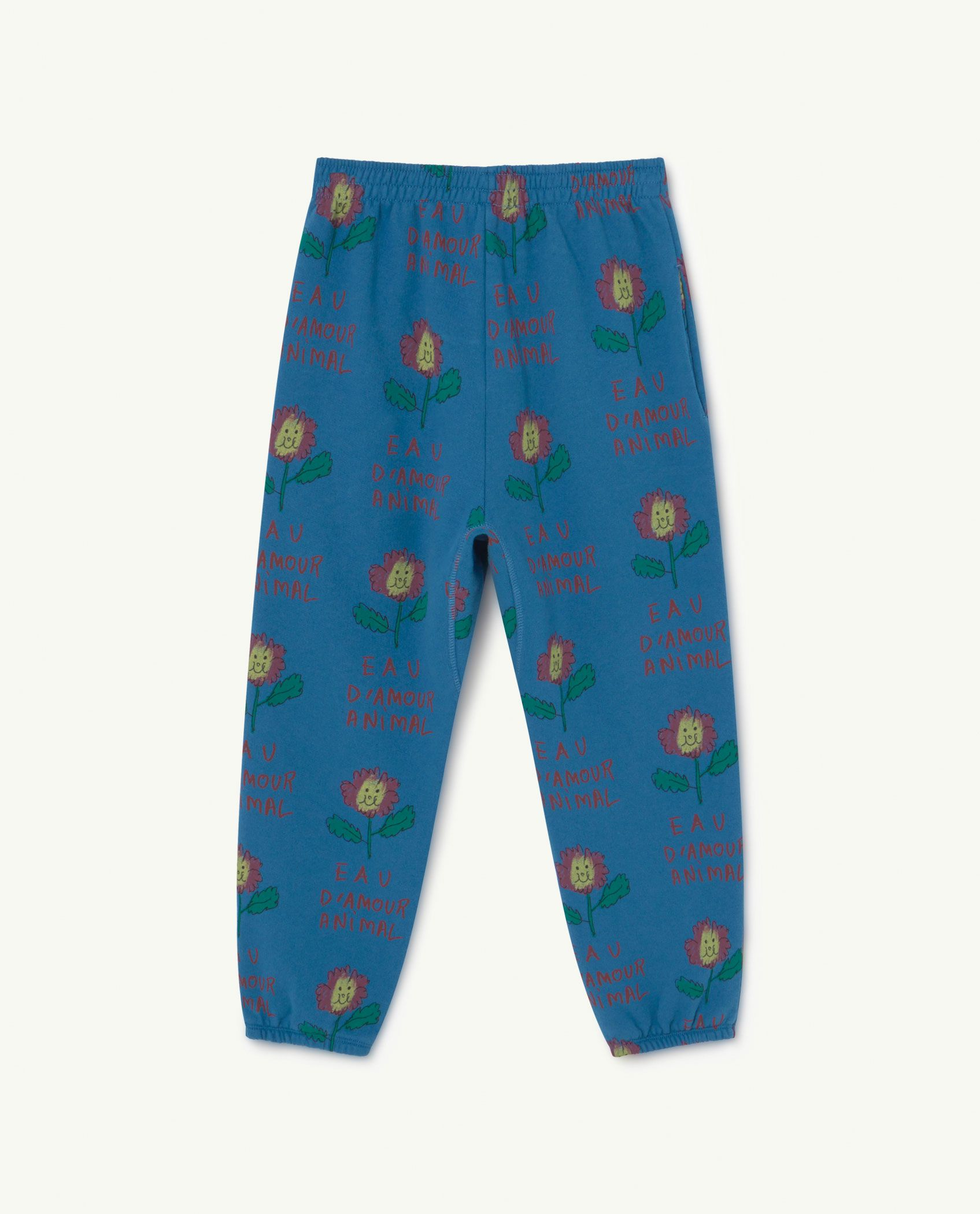 Recycled Blue Flowers Trousers img-2