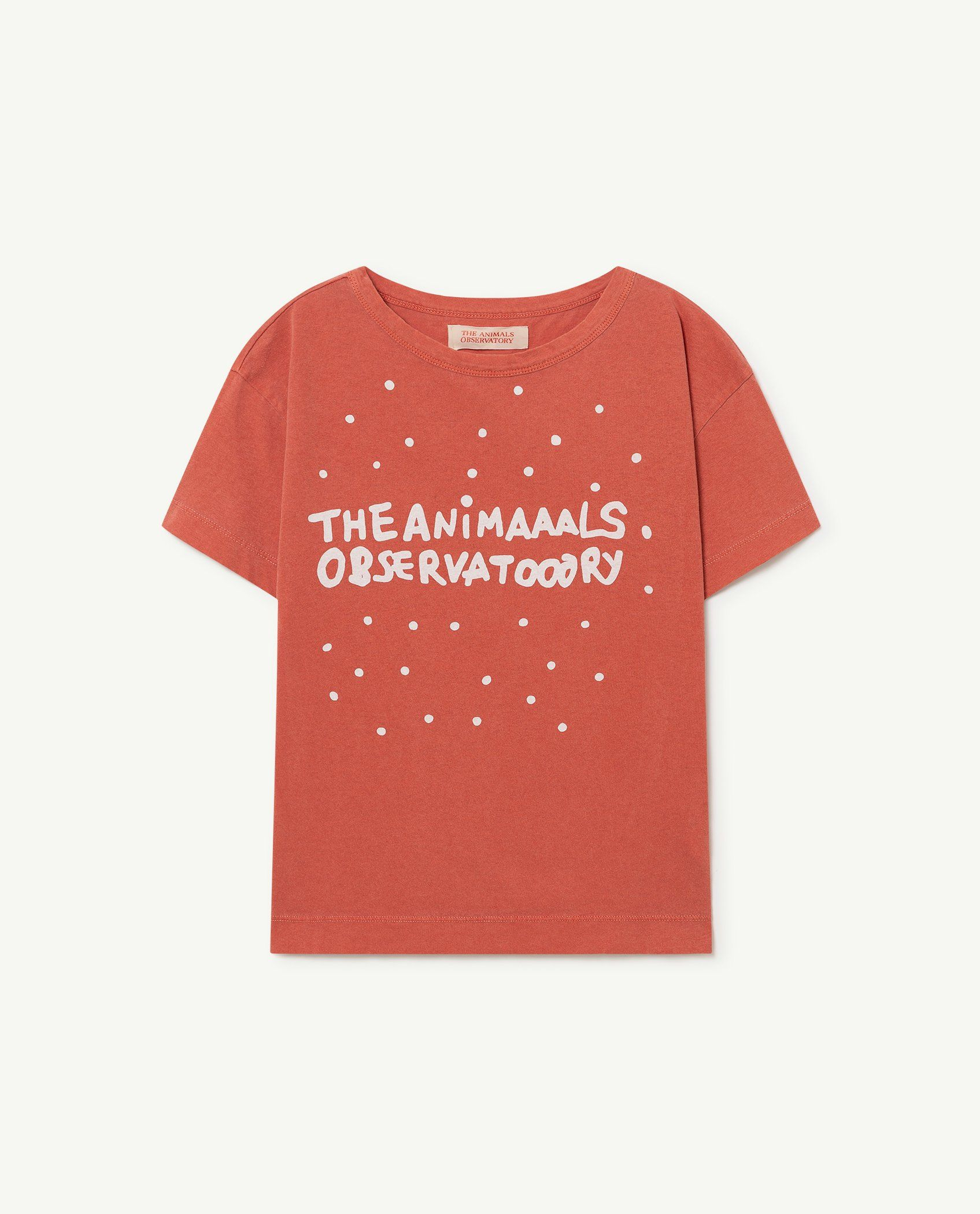 Red The Animals Rooster T-Shirt img-1