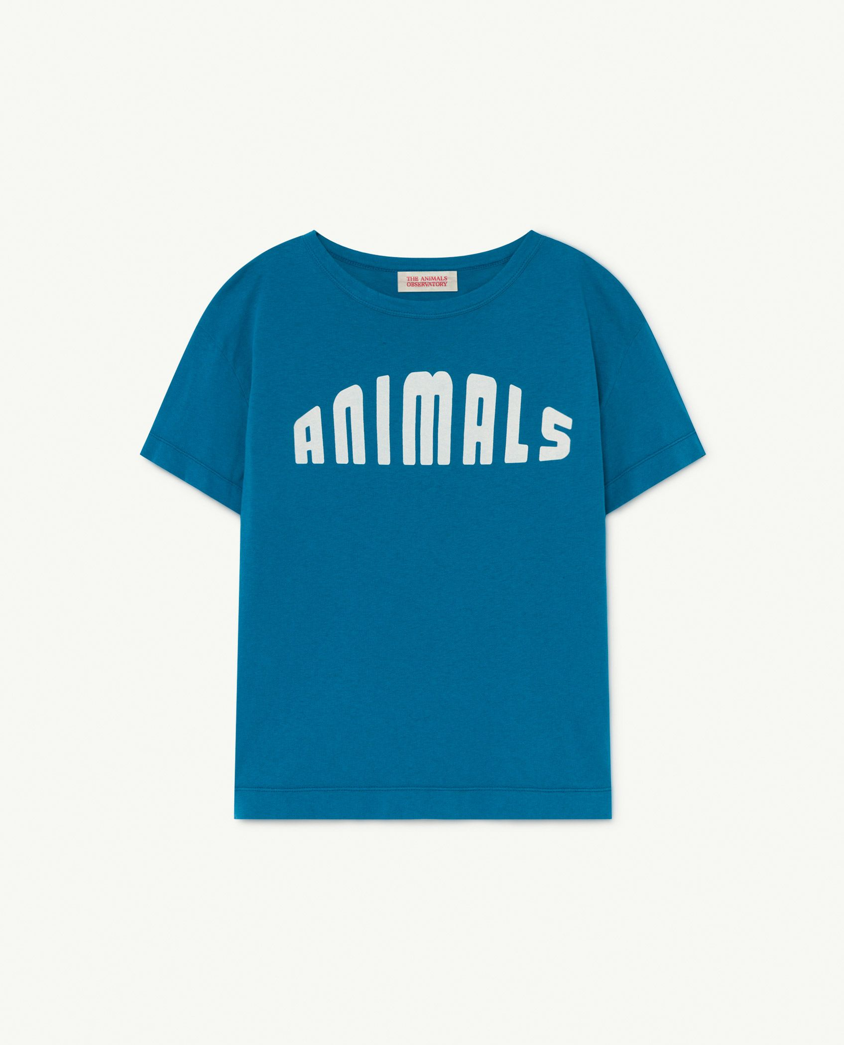 Blue Animals Rooster T-Shirt img-1