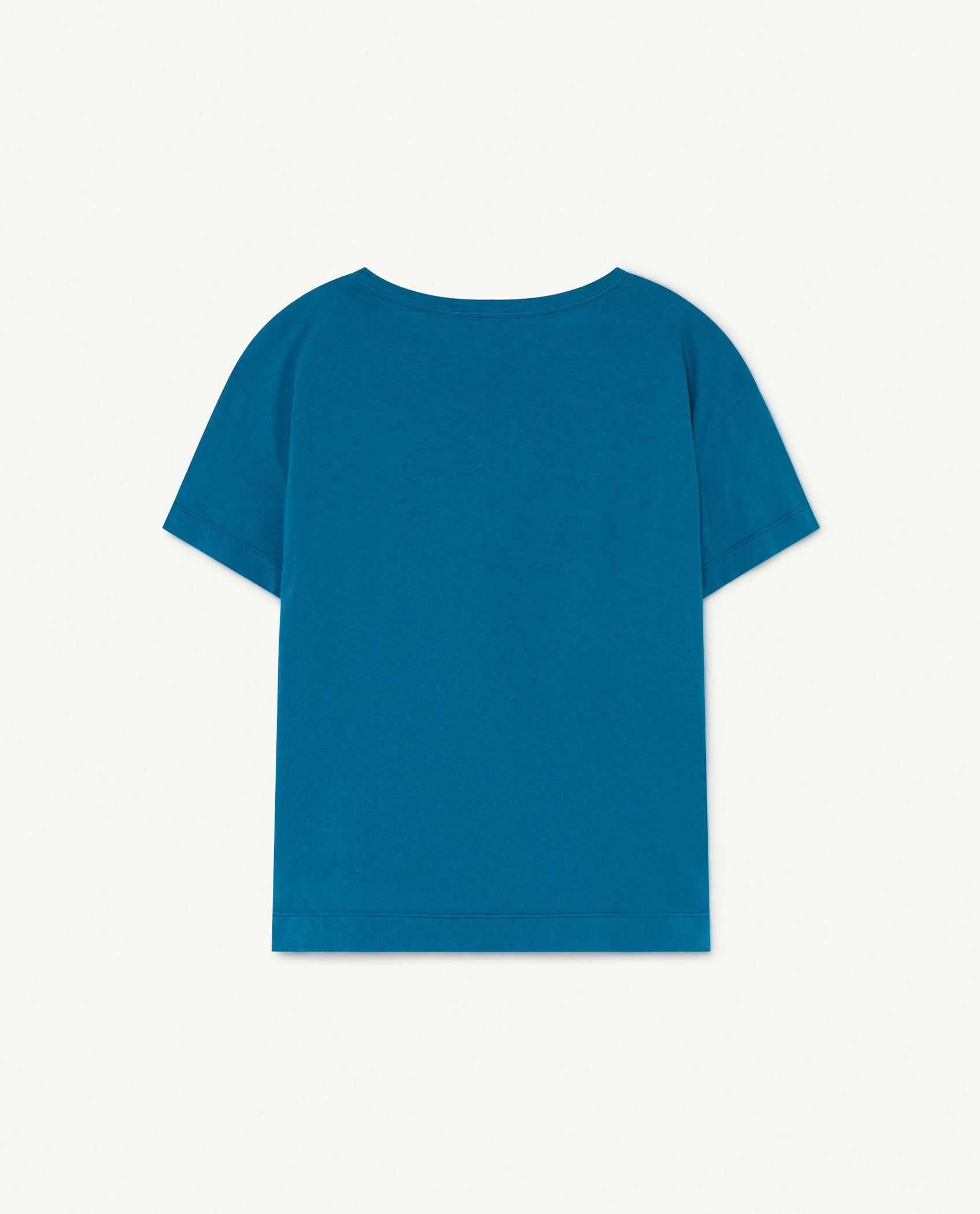 Blue Animals Rooster T-Shirt img-2