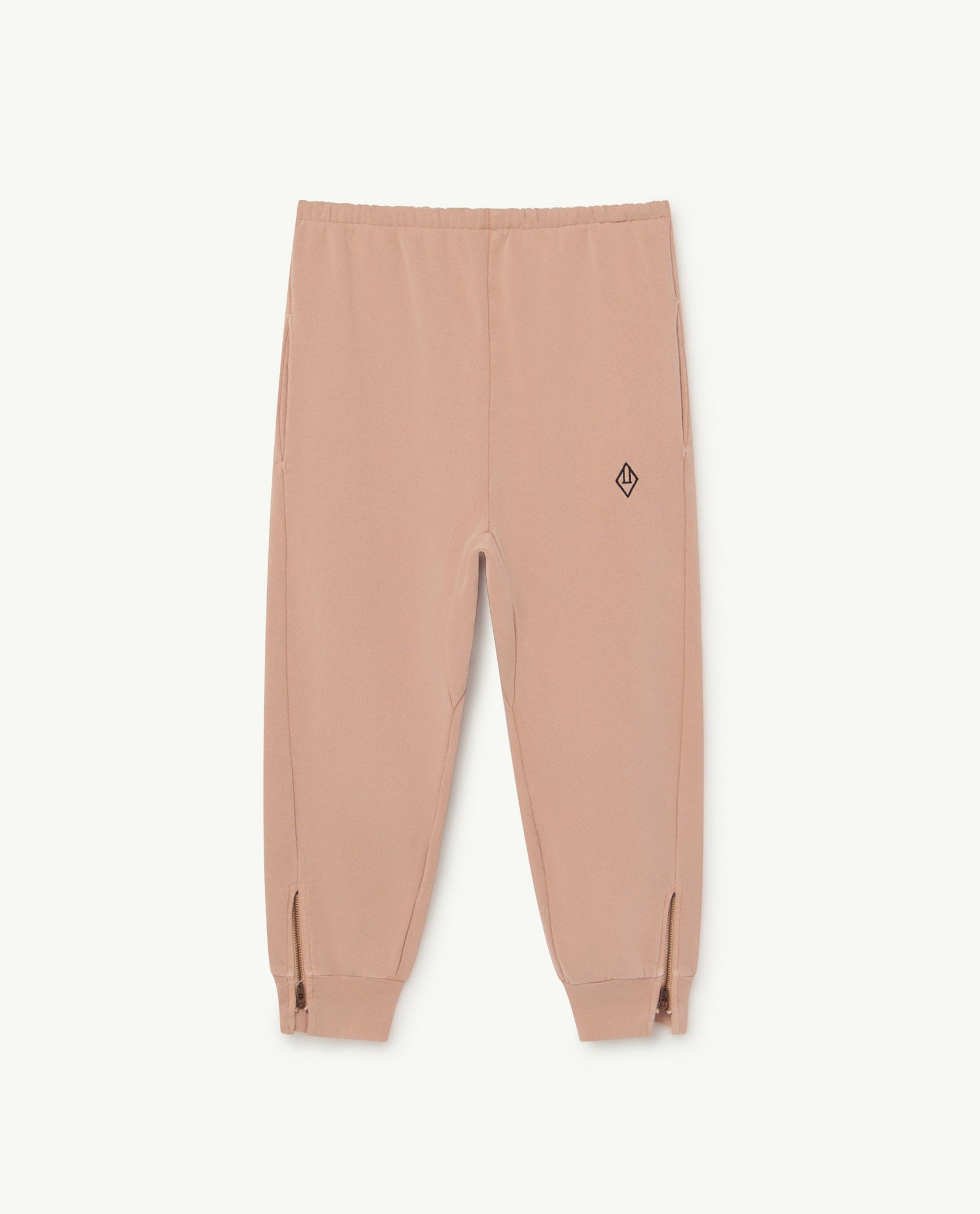 Soft Pink Logo Panther Trousers img-1