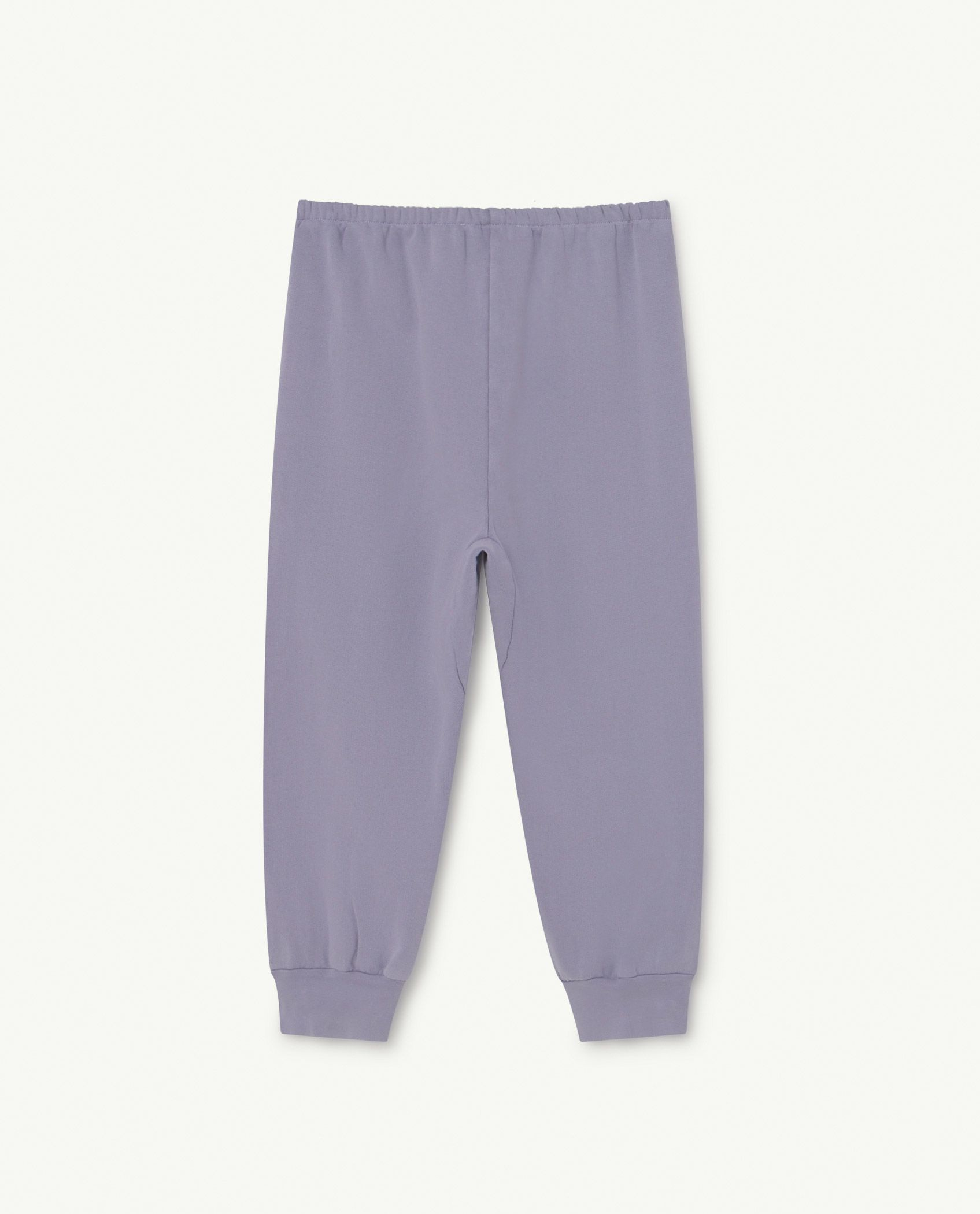 Soft Purple Logo Panther Trousers img-2