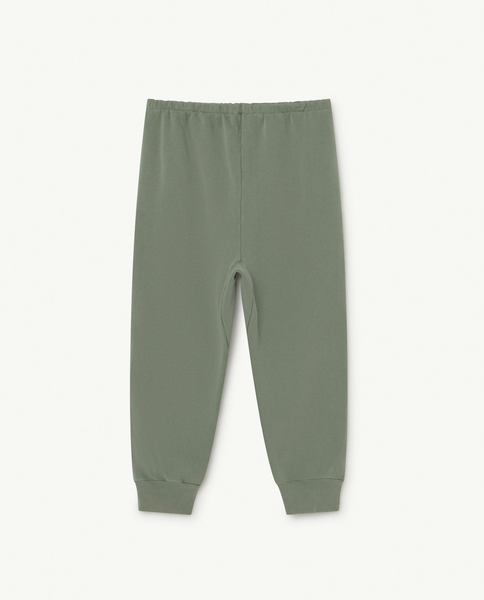 Soft Green Logo Panther Trousers img-2
