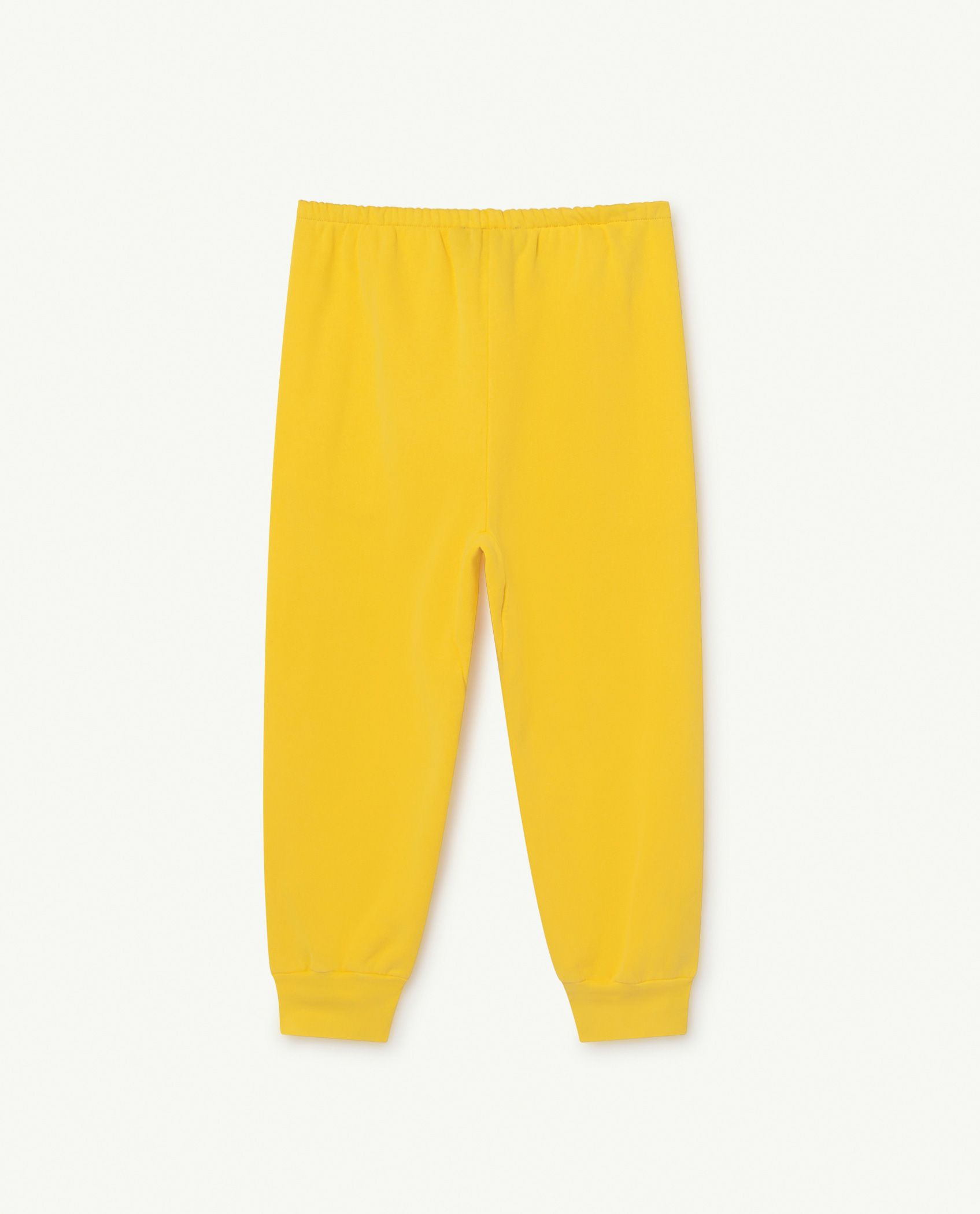 Yellow Logo Panther Trousers img-2