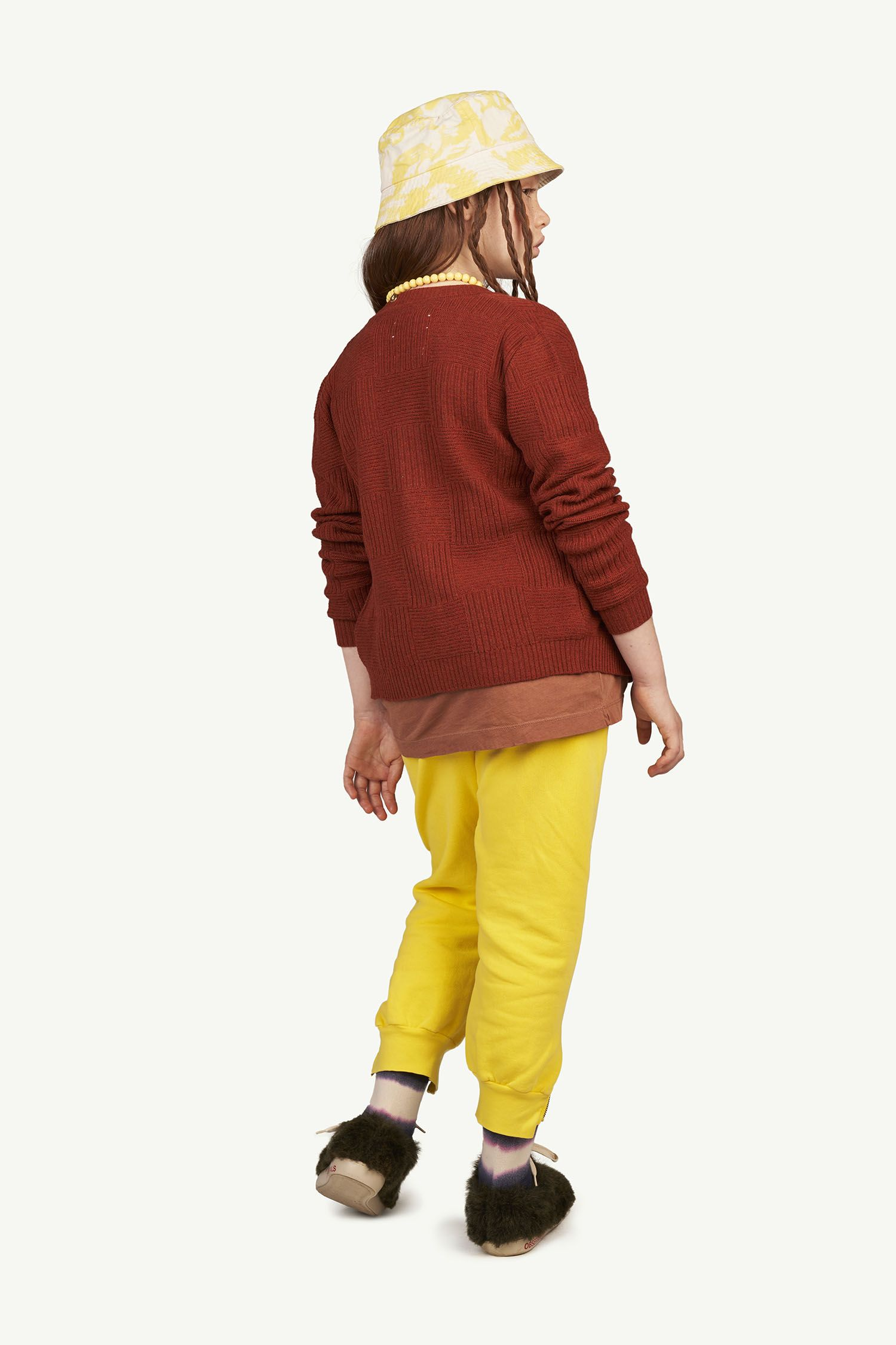 Yellow Logo Panther Trousers img-6