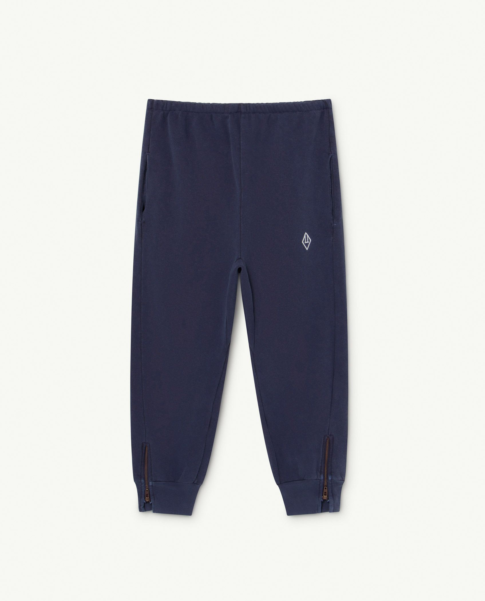 Deep Blue Logo Panther Trousers img-1