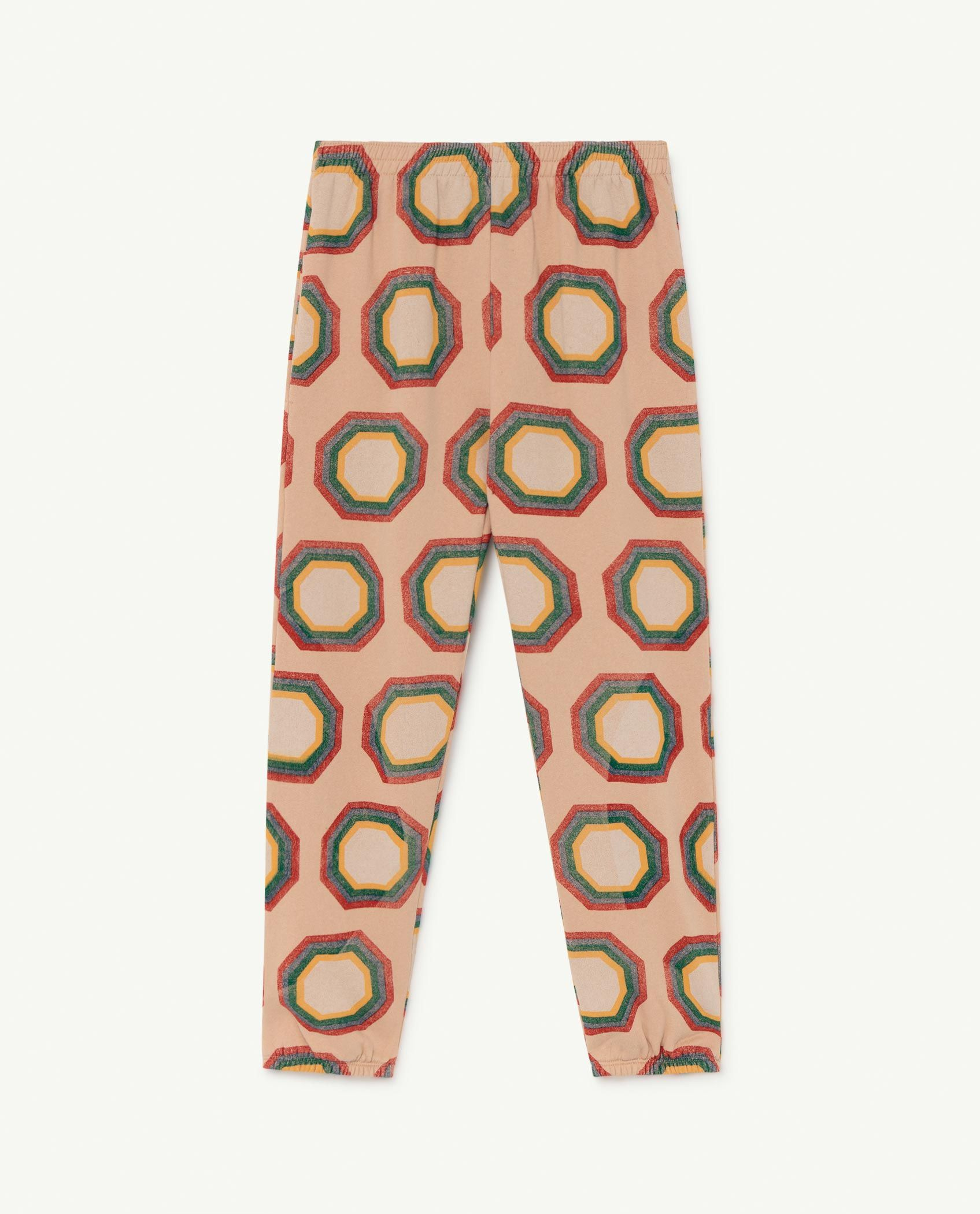 Soft Pink Octagon Dromedary Trousers img-1