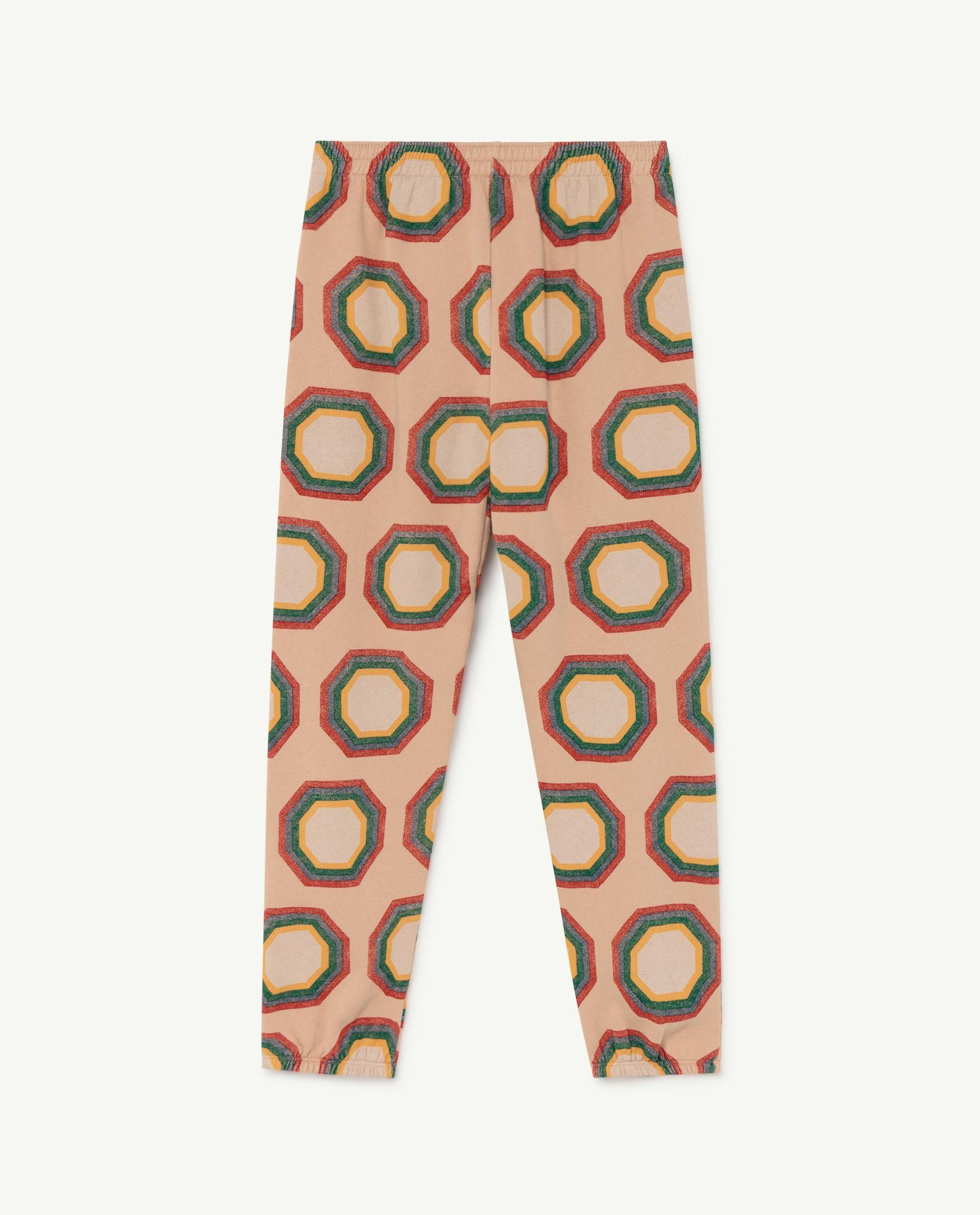 Soft Pink Octagon Dromedary Trousers img-2